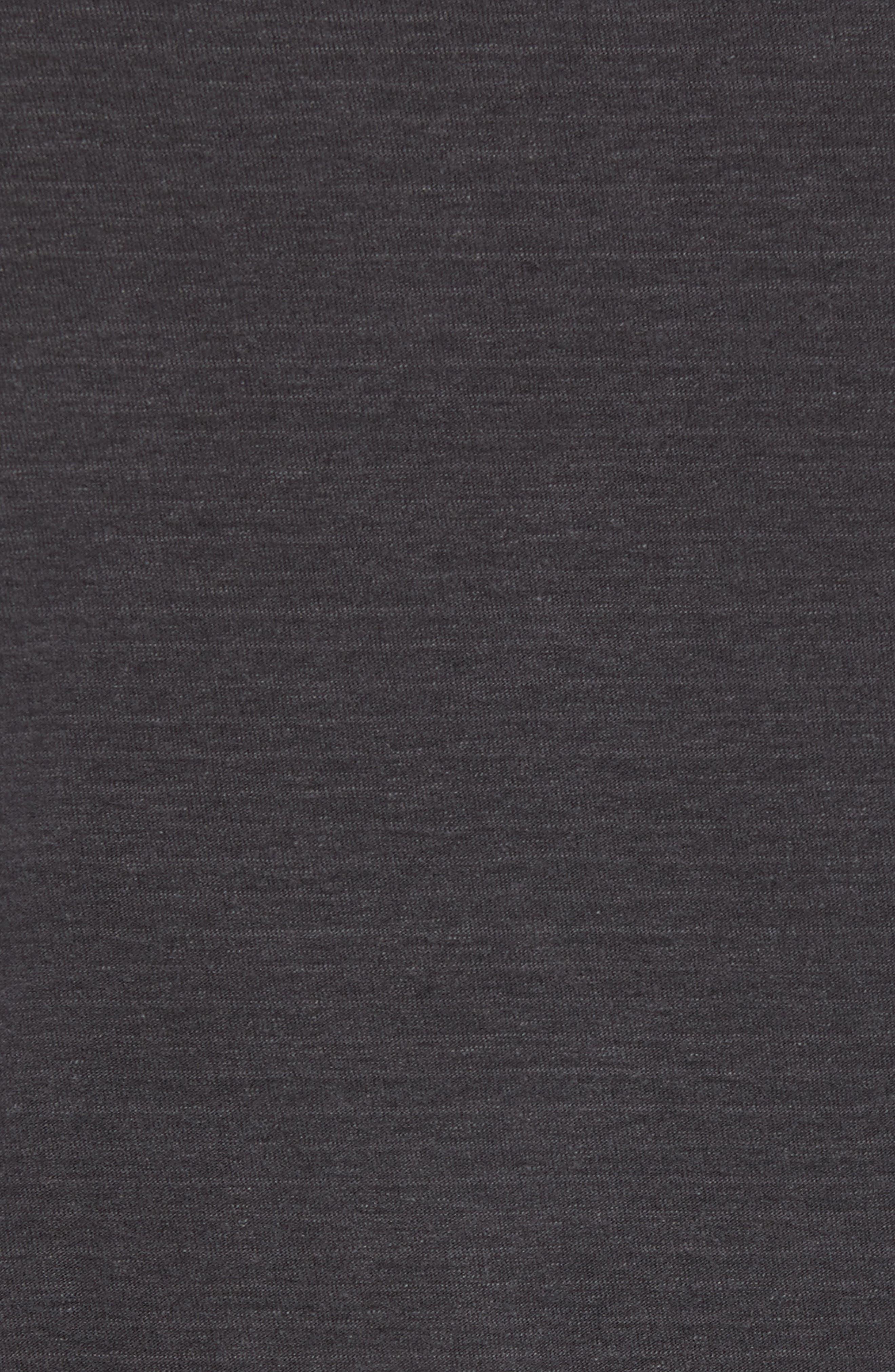 Regular Fit Micro Stripe Henley Shirt,                             Alternate thumbnail 5, color,                             020