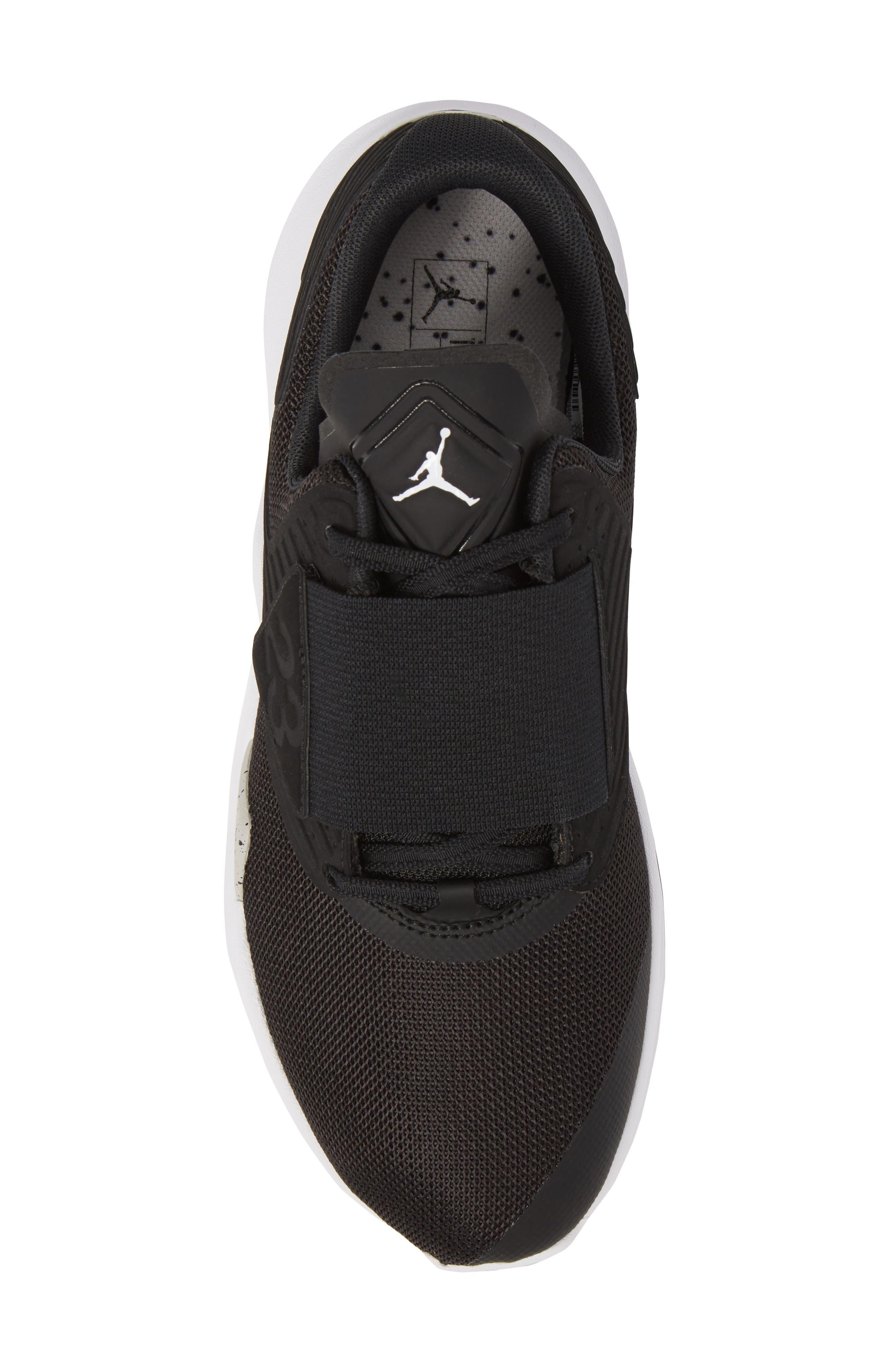 Air Jordan Relentless Training Sneaker,                             Alternate thumbnail 5, color,                             BLACK/ TECH GREY/ WHITE