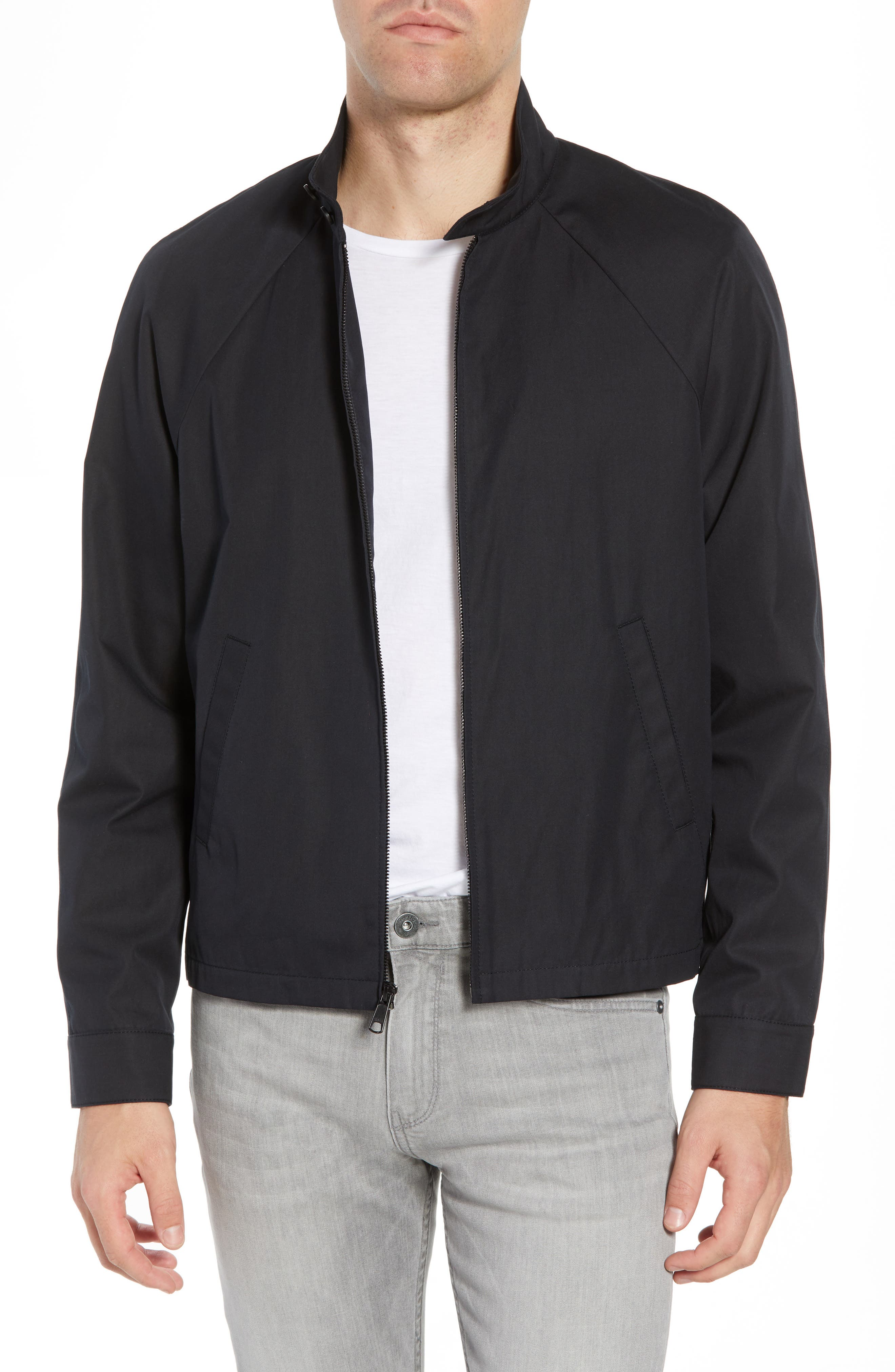 Regular Fit Jacket,                             Main thumbnail 1, color,                             001