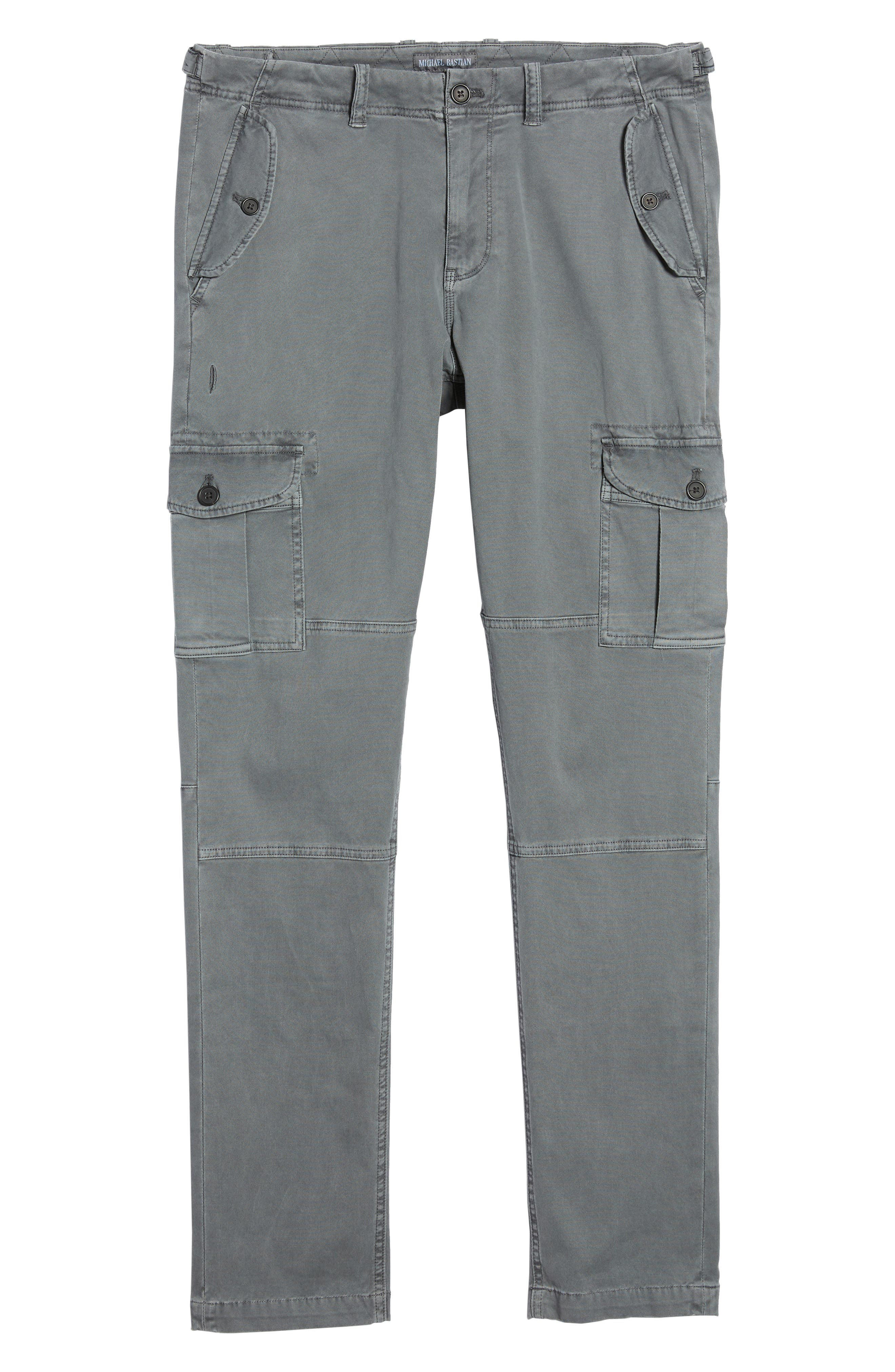 Stretch Twill Cargo Pants,                             Alternate thumbnail 16, color,