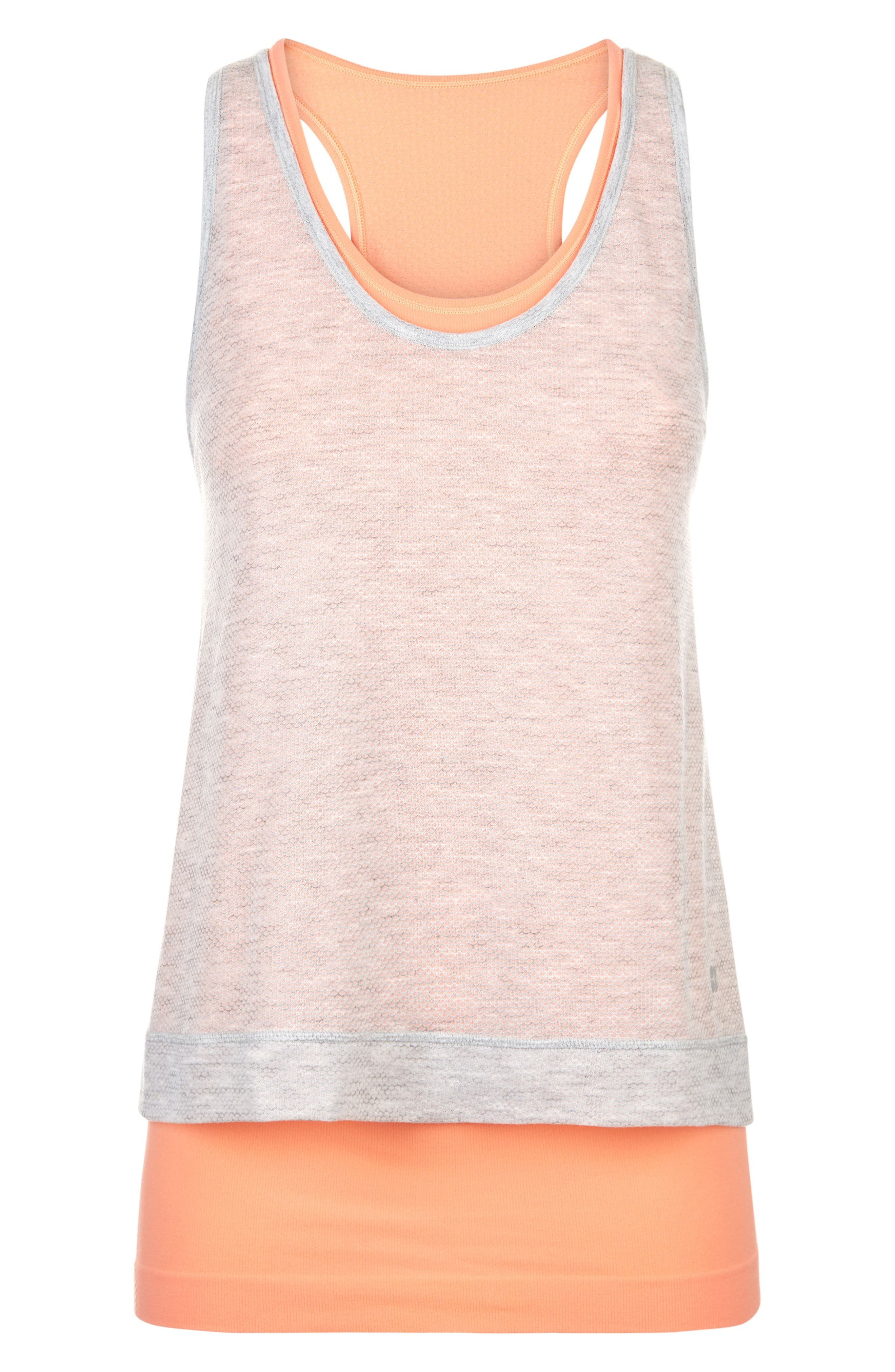 Sweat Betty Double Time Seamless Tank,                             Alternate thumbnail 5, color,