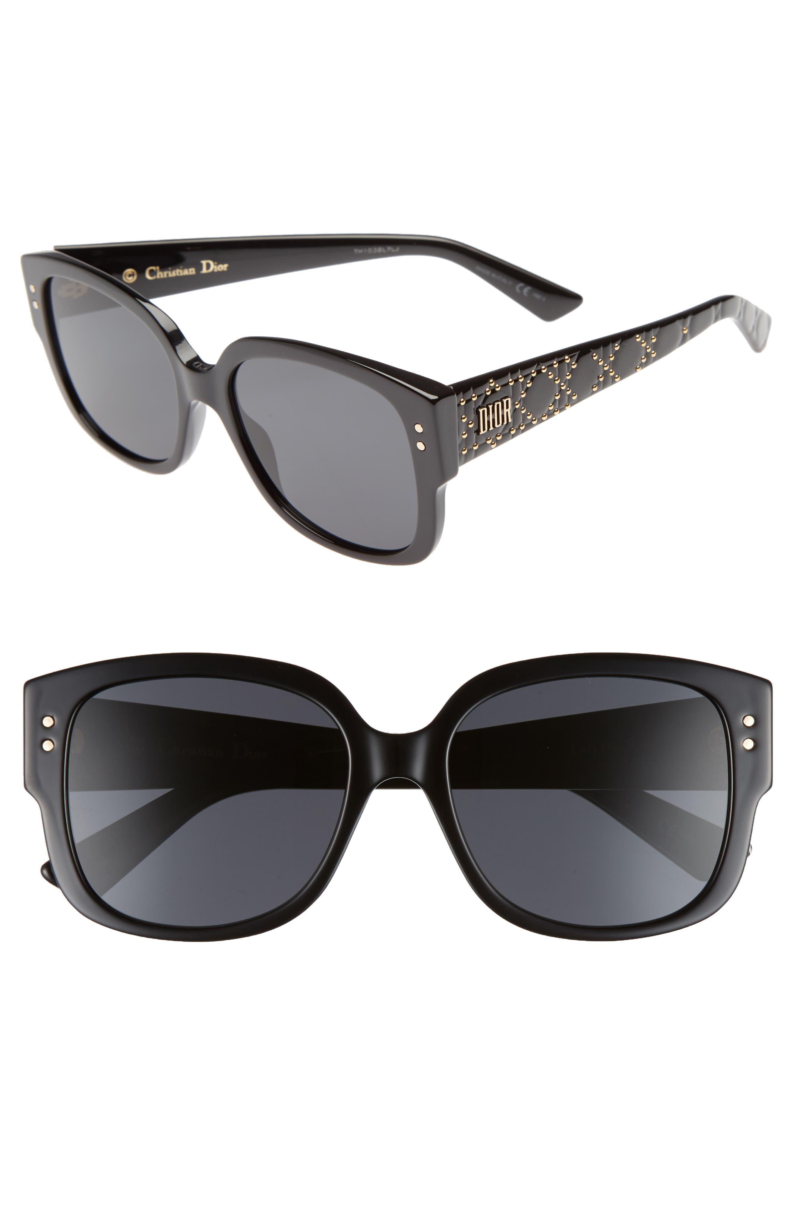 Square 54mm Sunglasses,                         Main,                         color, 002