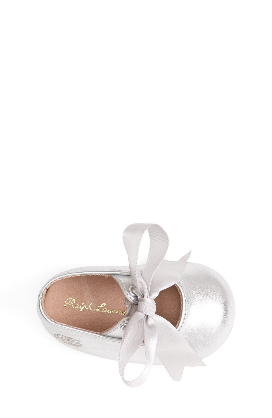 Layette 'Briley' Shoe,                             Alternate thumbnail 4, color,                             040