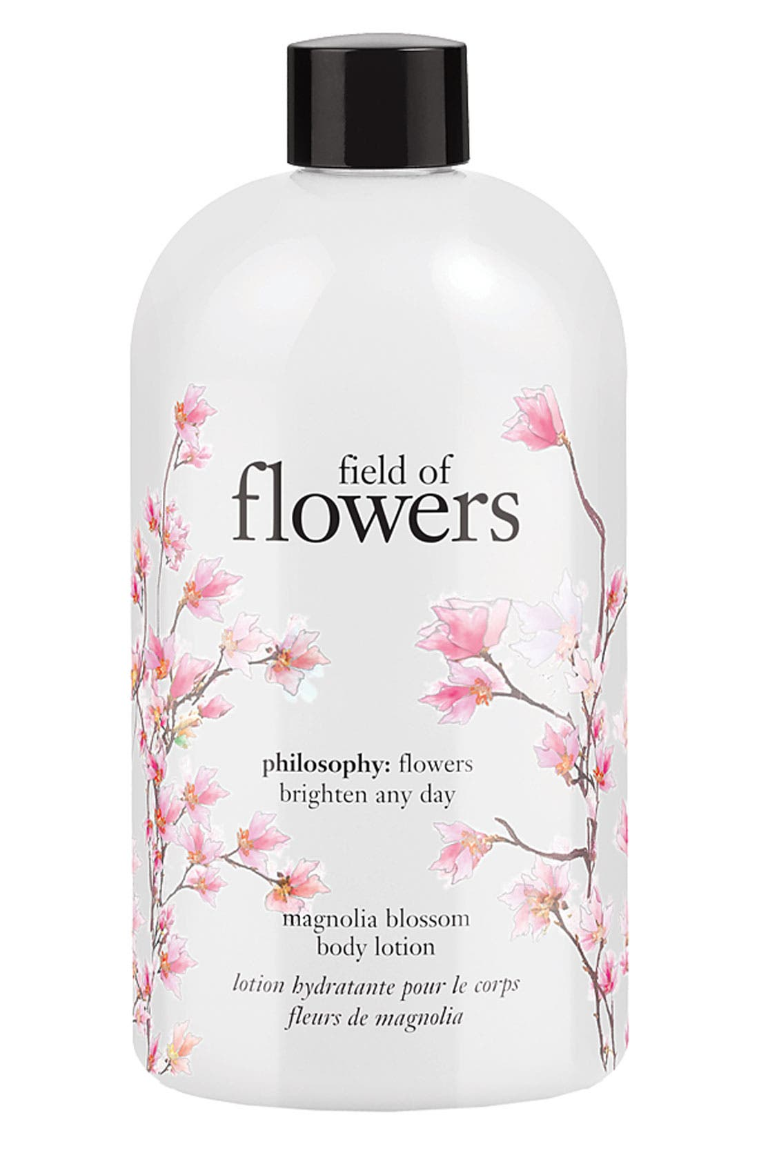 'field of flowers' magnolia blossom body lotion, Main, color, 000