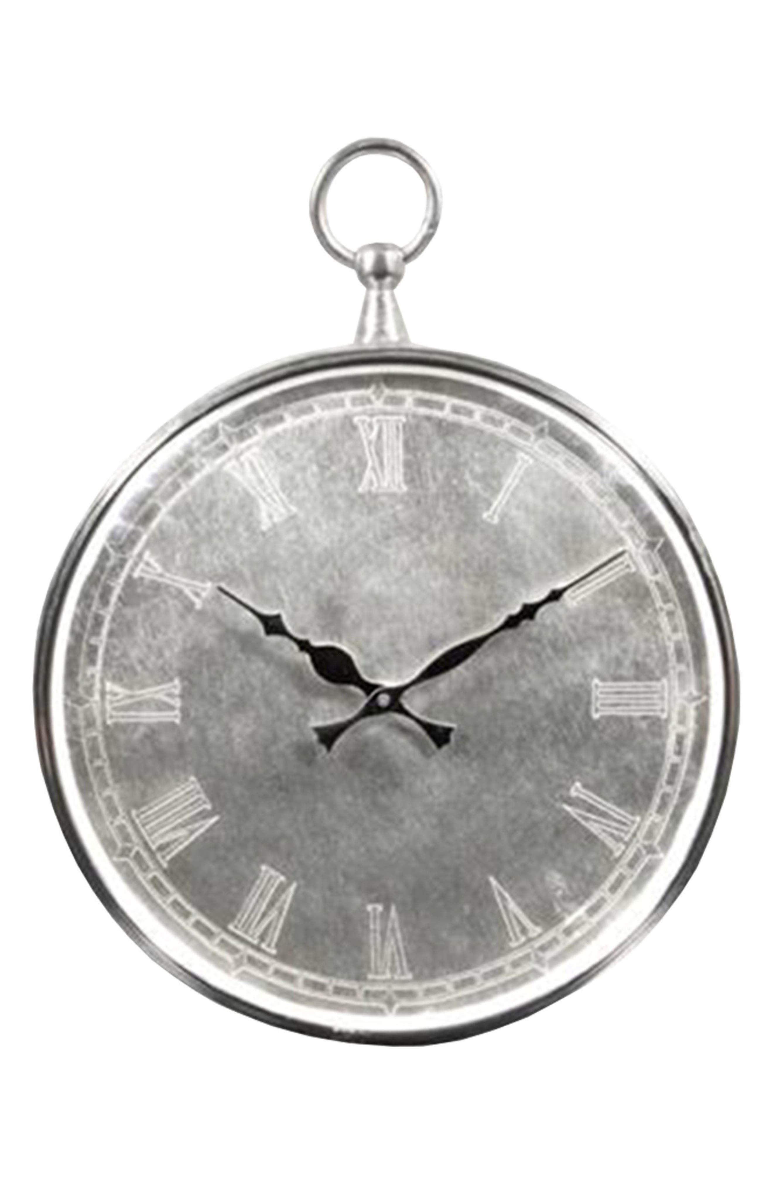 Bryony Wall Clock,                             Main thumbnail 1, color,                             020