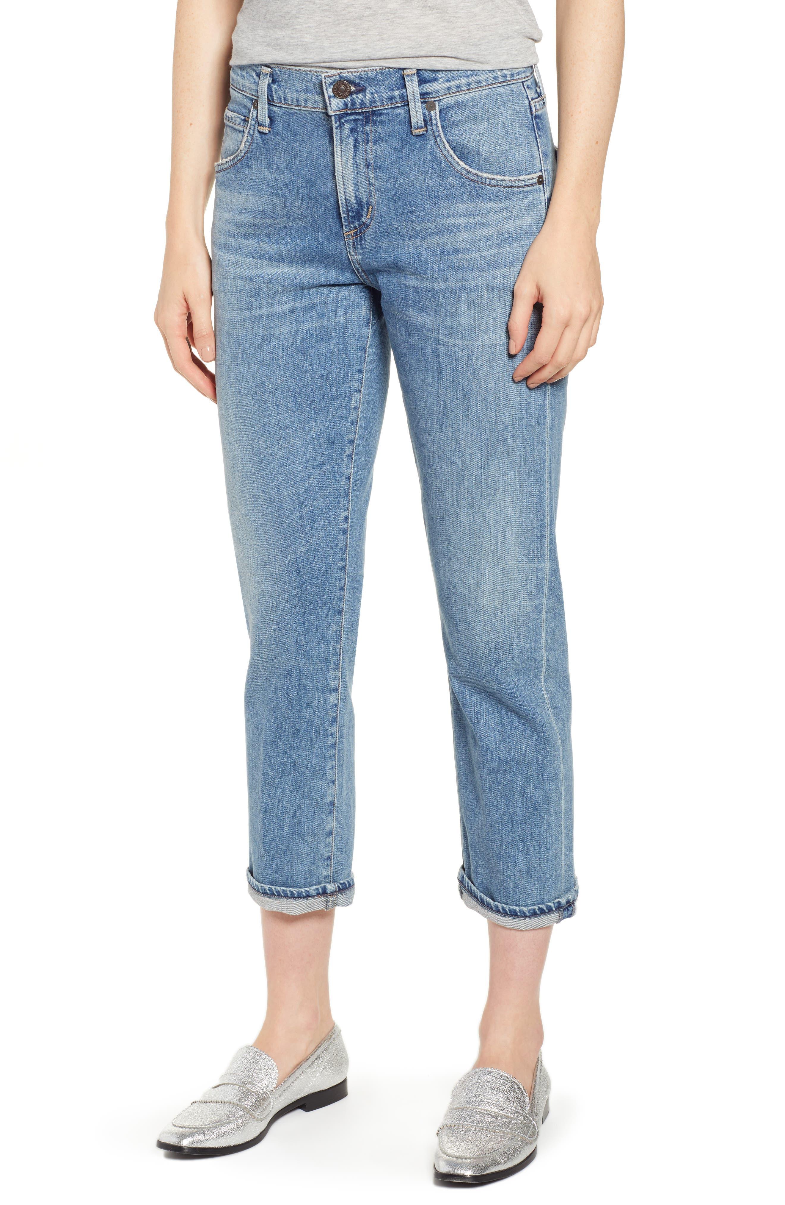 CITIZENS OF HUMANITY Emerson Ankle Boyfriend Jeans, Main, color, ENCORE