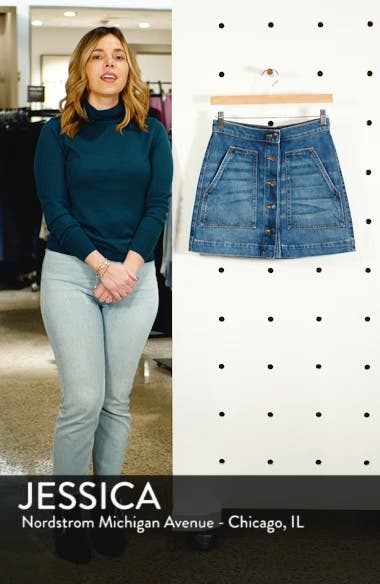 Getty Denim Skirt, sales video thumbnail