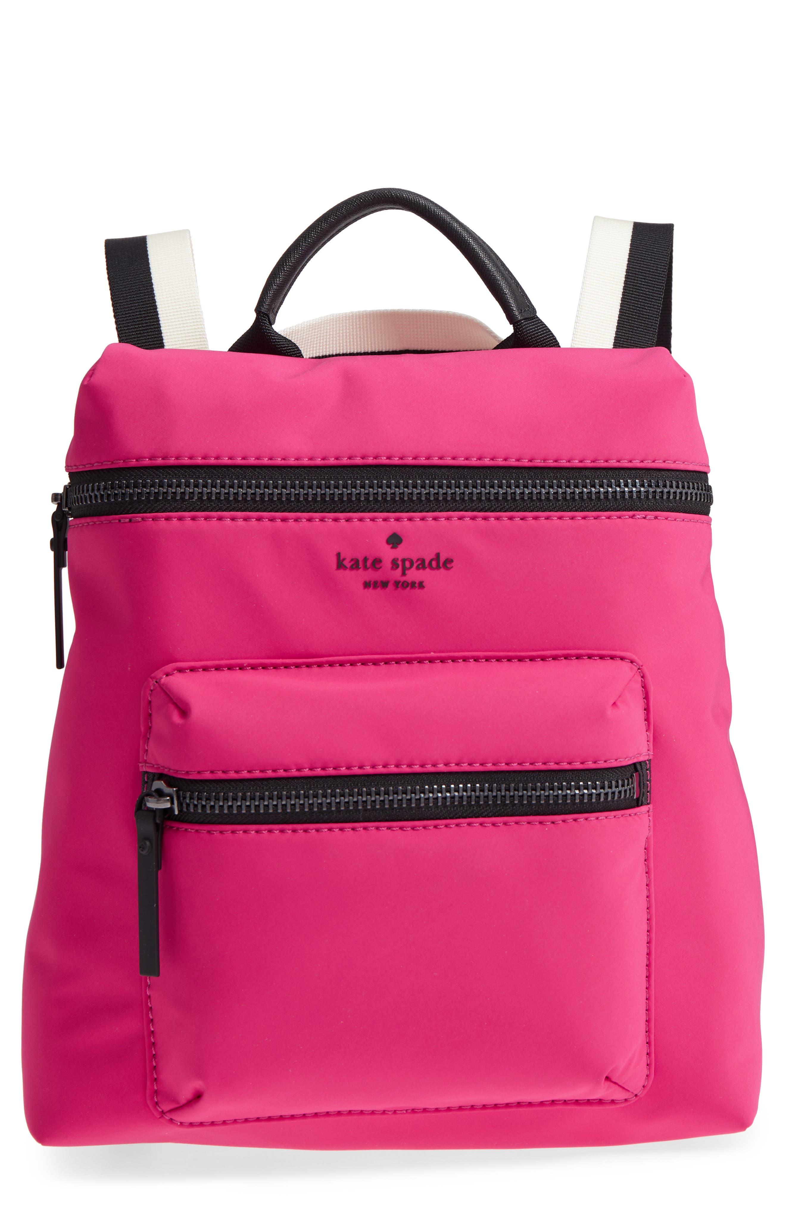 that's the spirit mini nylon convertible backpack,                             Main thumbnail 1, color,                             KINETIC PINK