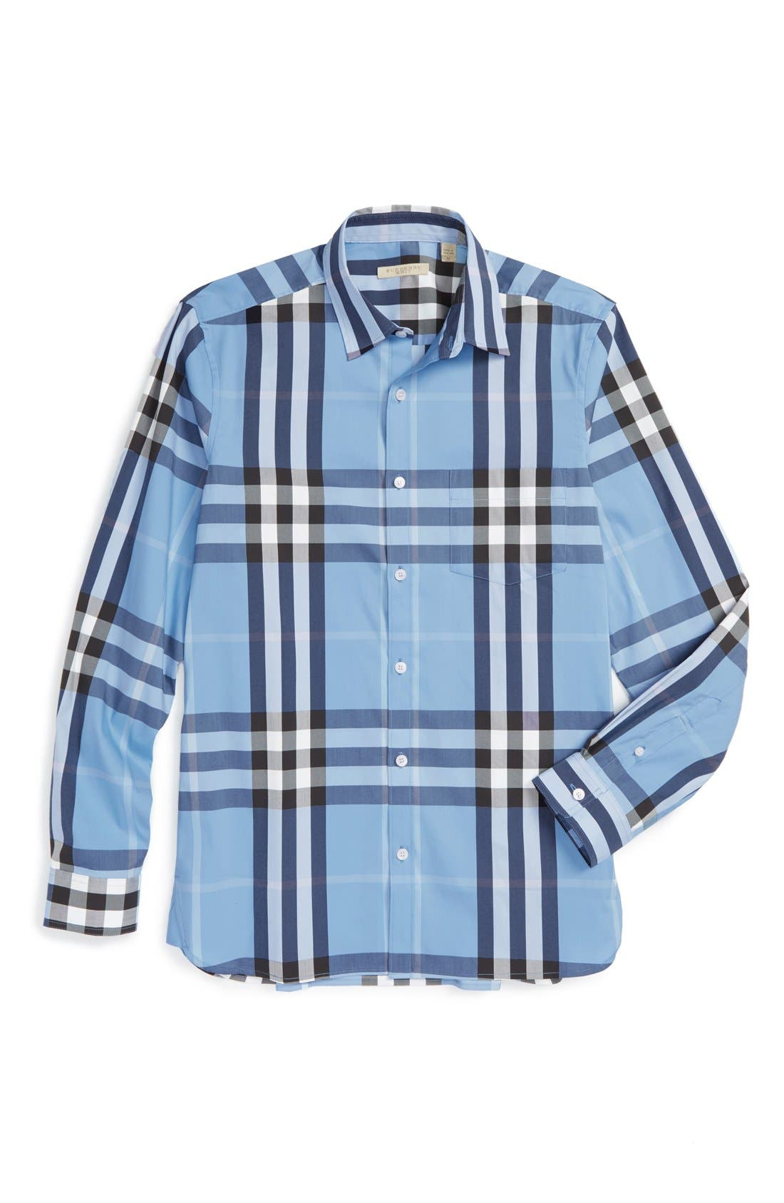 Nelson Check Sport Shirt,                             Main thumbnail 19, color,