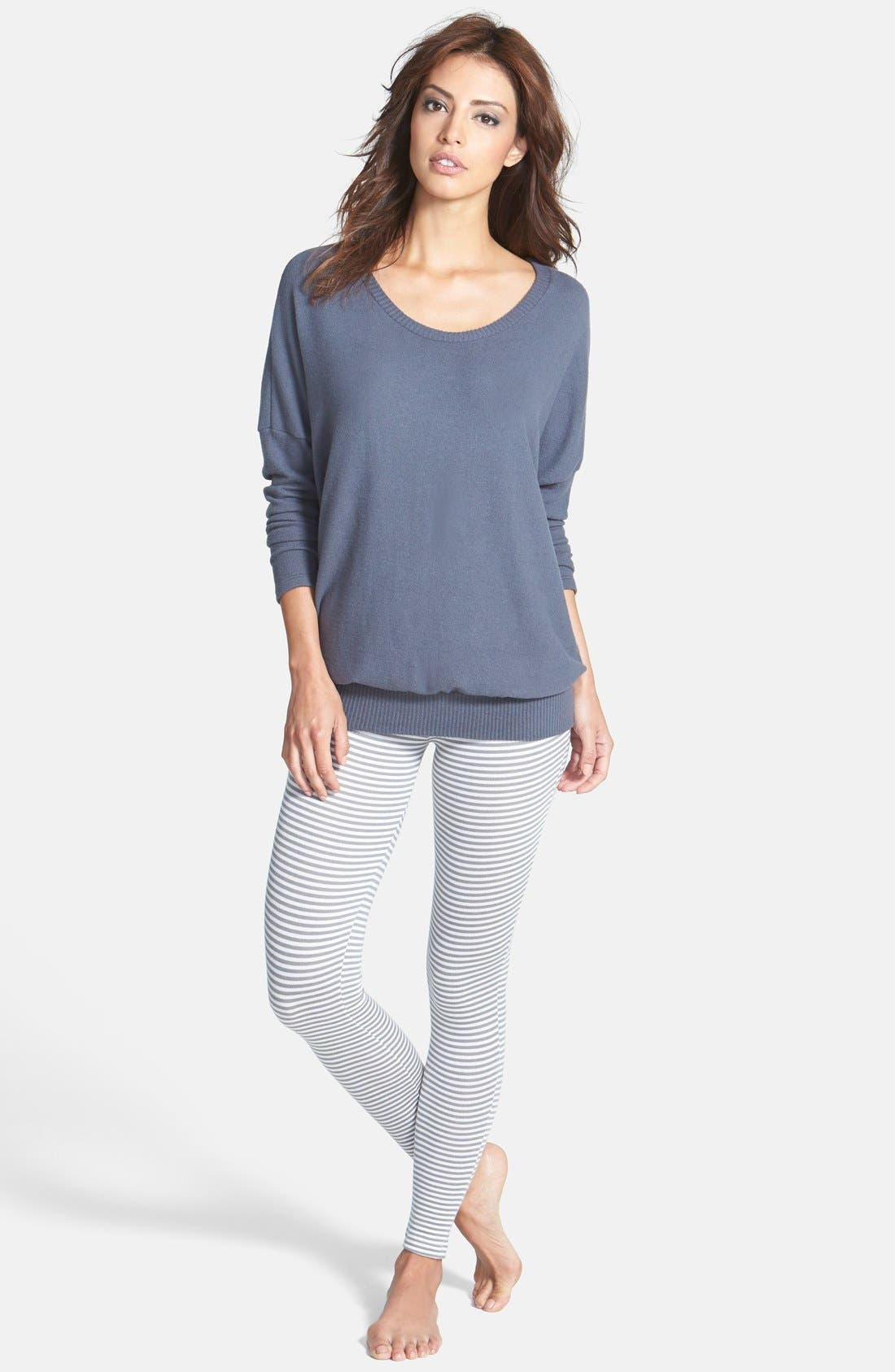 'Cozy Time' Slouchy Long Sleeve Tee,                             Alternate thumbnail 16, color,