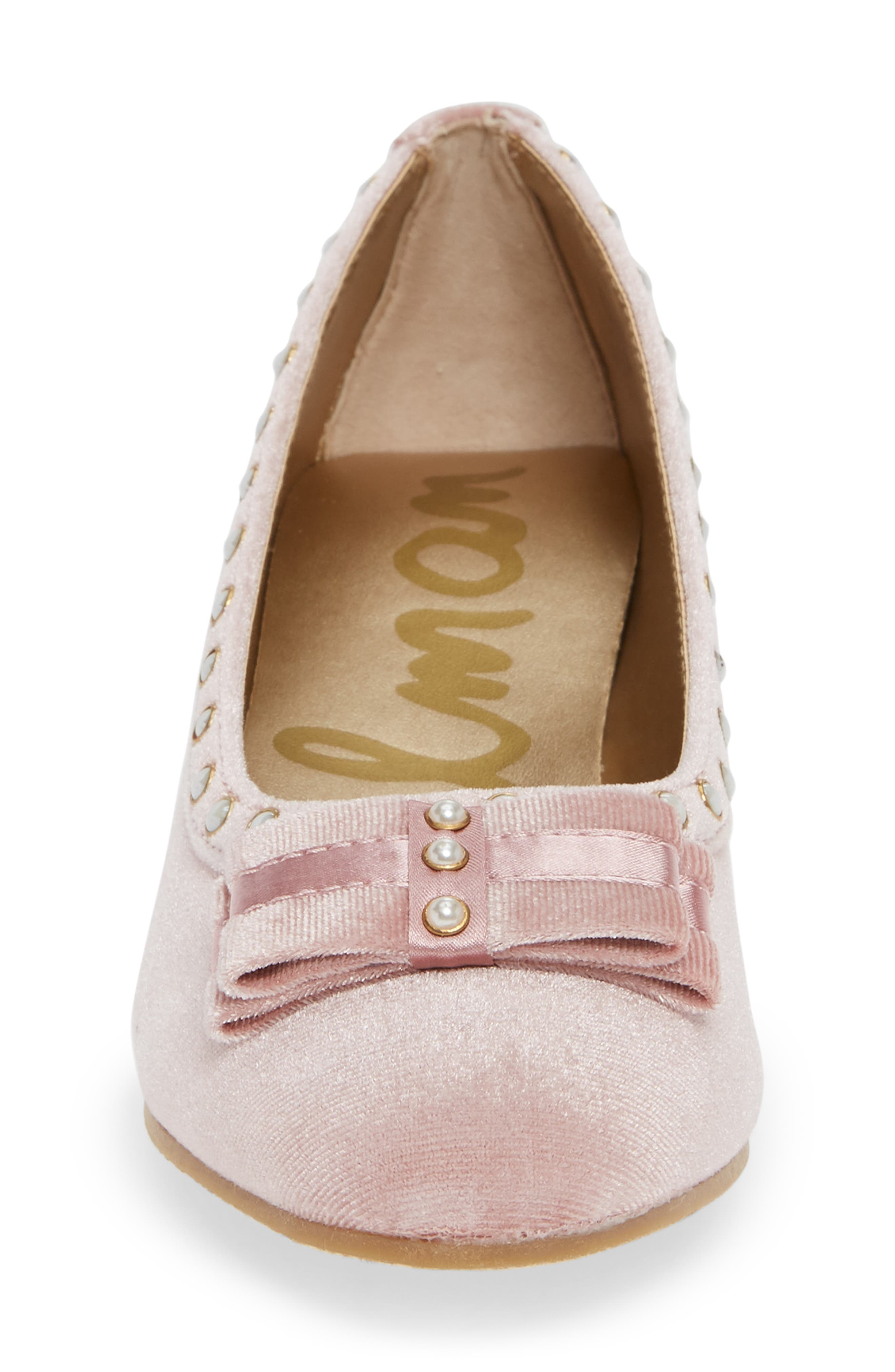 Evelyn Kammie Pump,                             Alternate thumbnail 4, color,                             MELLOW ROSE