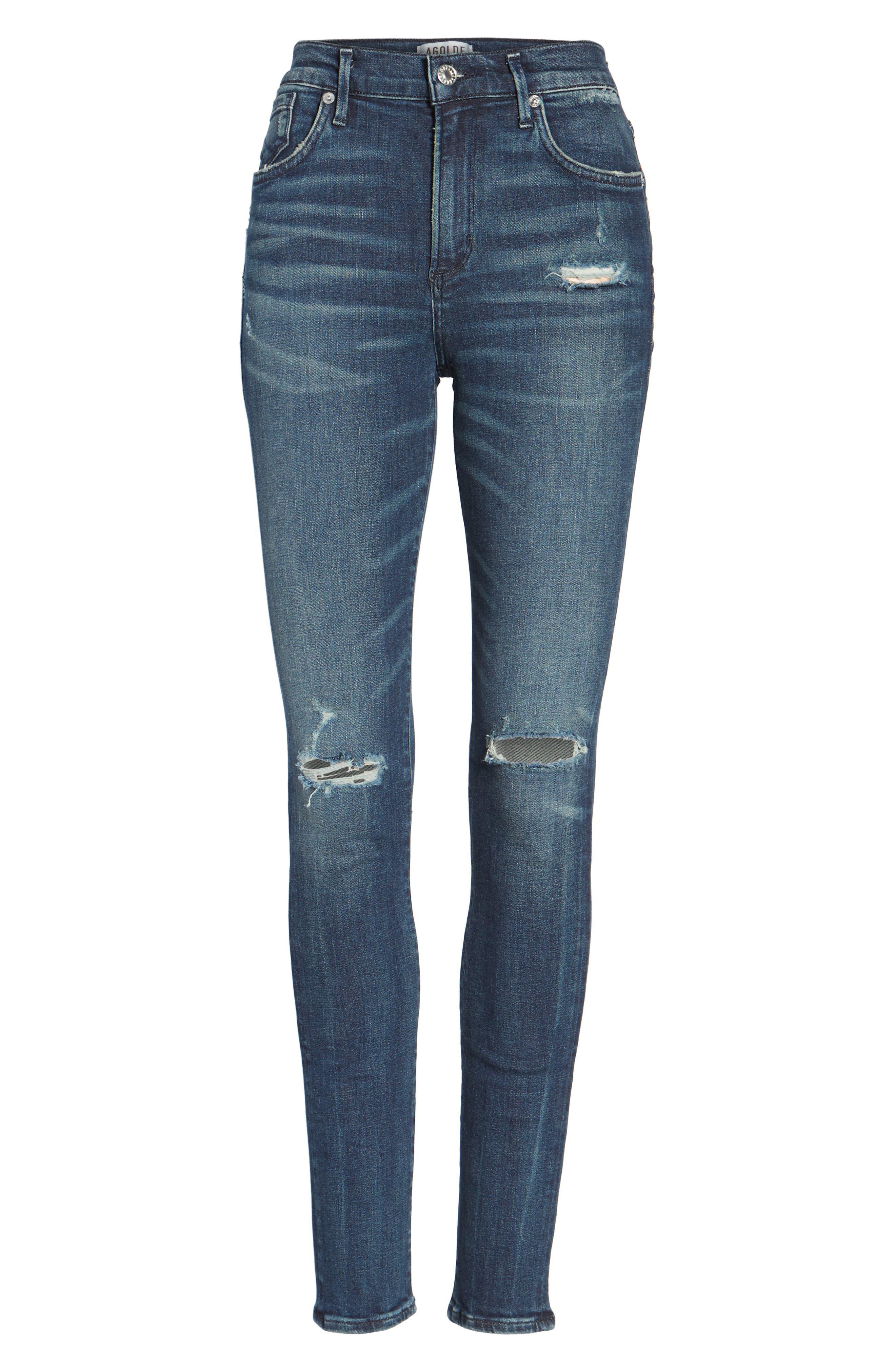 Sophie High Waist Skinny Jeans,                             Alternate thumbnail 12, color,