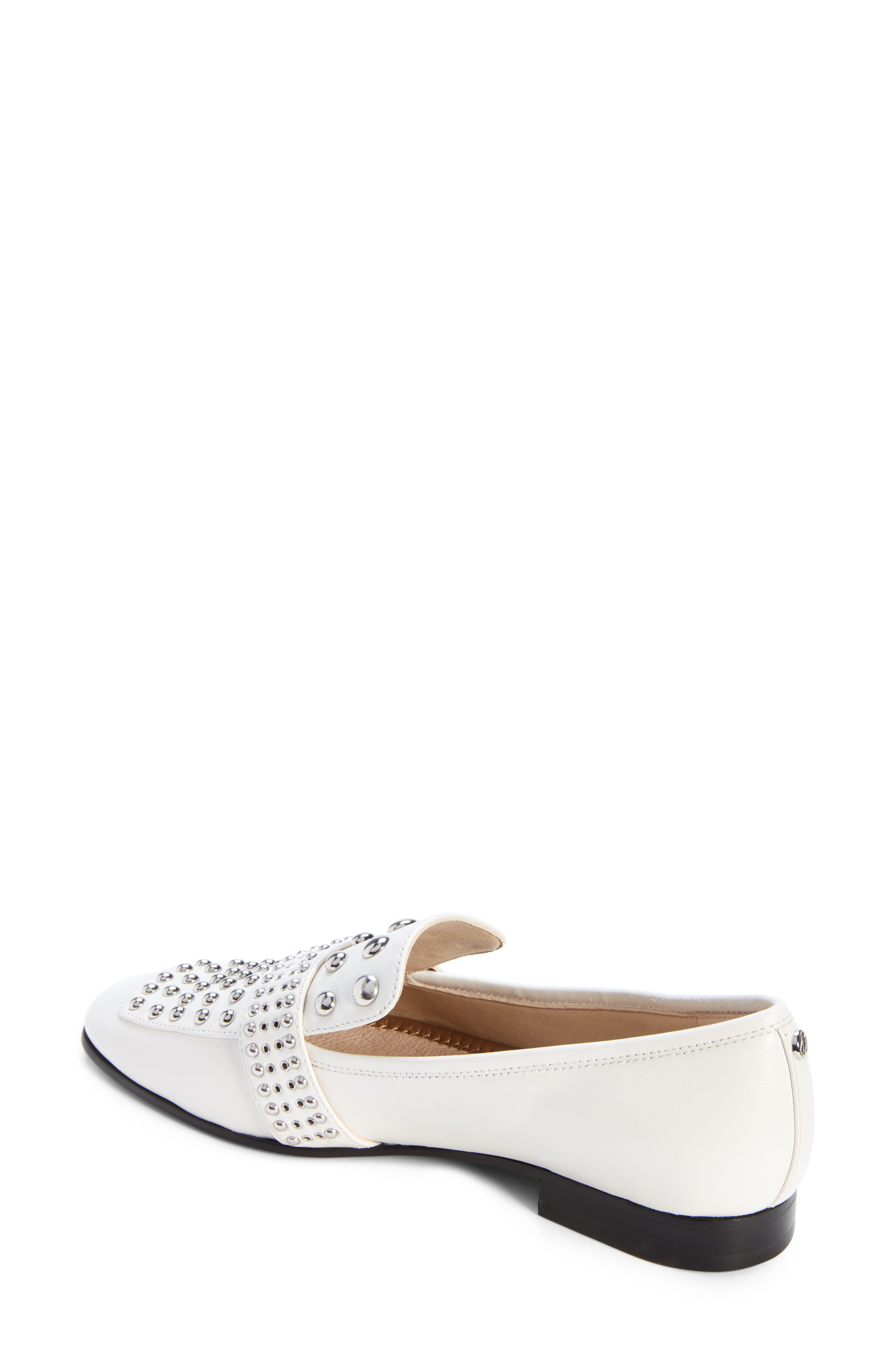 Chesney Loafer,                             Alternate thumbnail 2, color,                             BRIGHT WHITE LEATHER