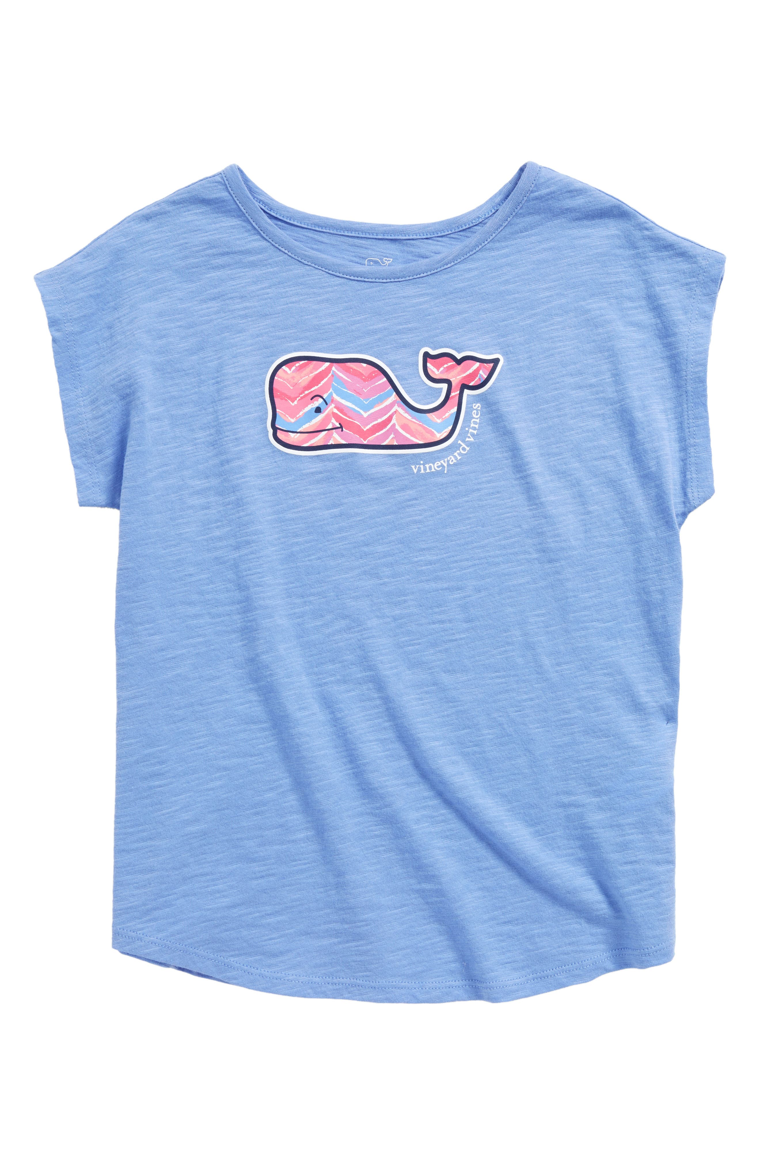 Watercolor Whale Logo Tee,                             Main thumbnail 1, color,