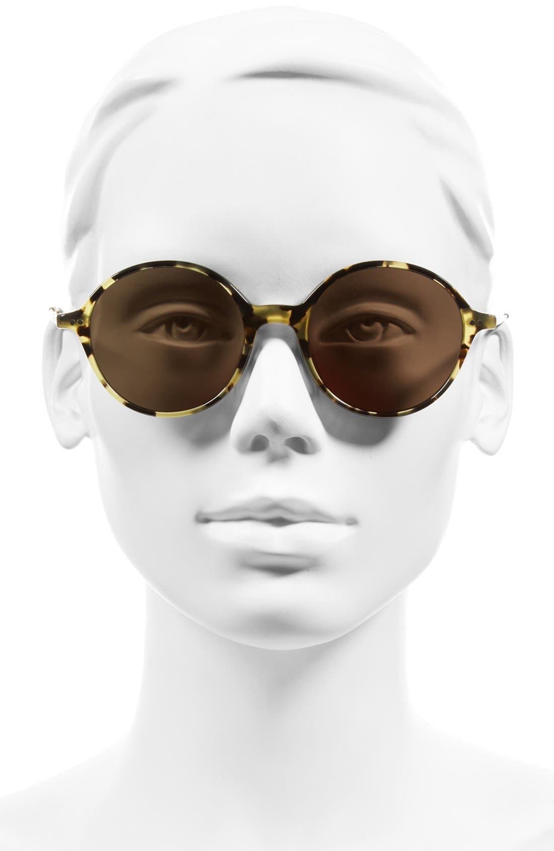 Corby 51mm Round Sunglasses,                             Alternate thumbnail 5, color,