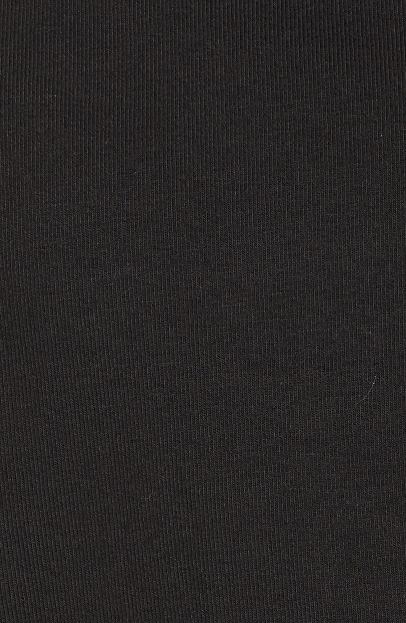 NikeLab Essentials Women's Zip Hoodie,                             Alternate thumbnail 6, color,                             BLACK/ BLACK