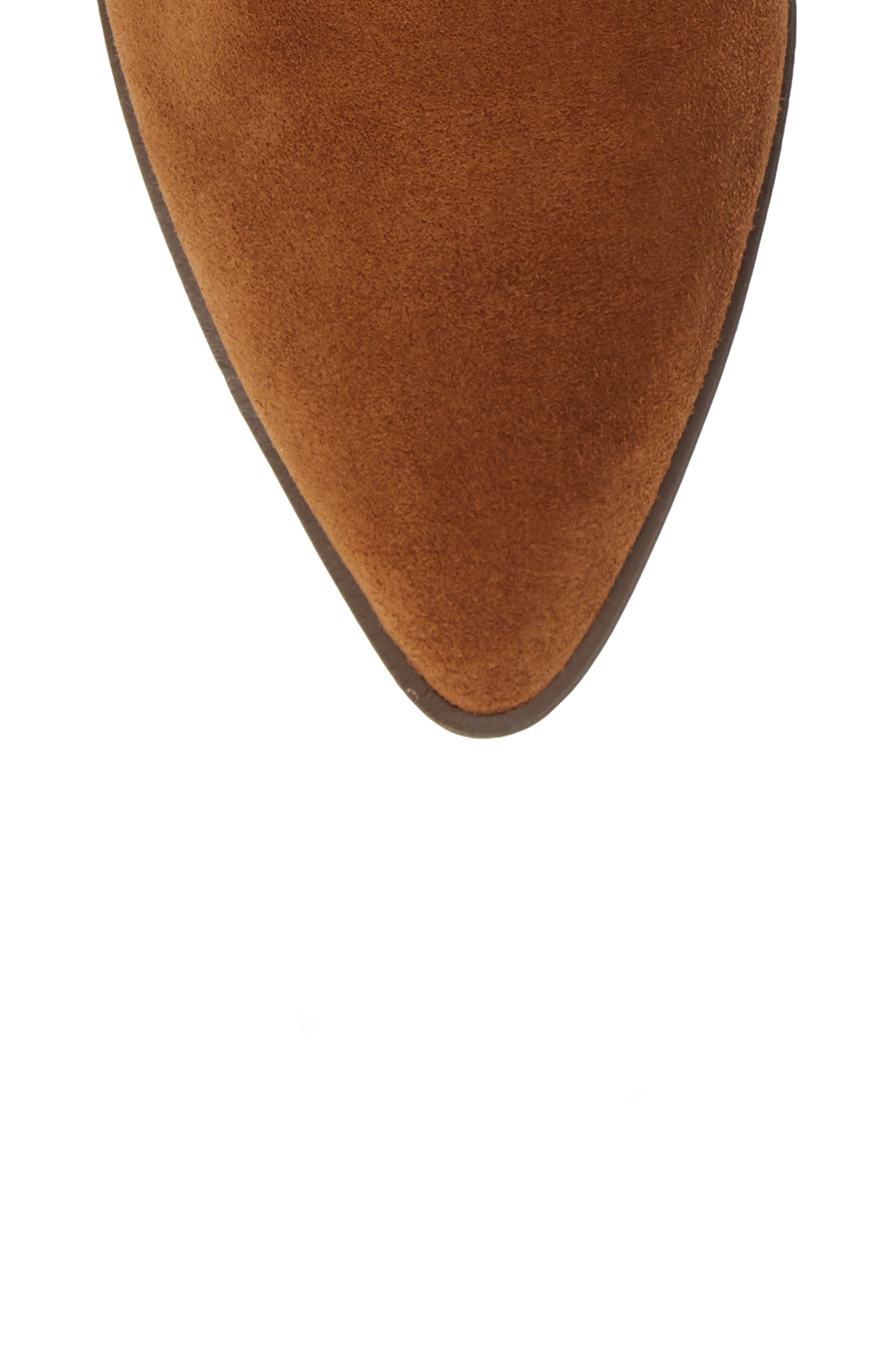 Kaiegan Bootie,                             Alternate thumbnail 5, color,                             SADDLE SUEDE