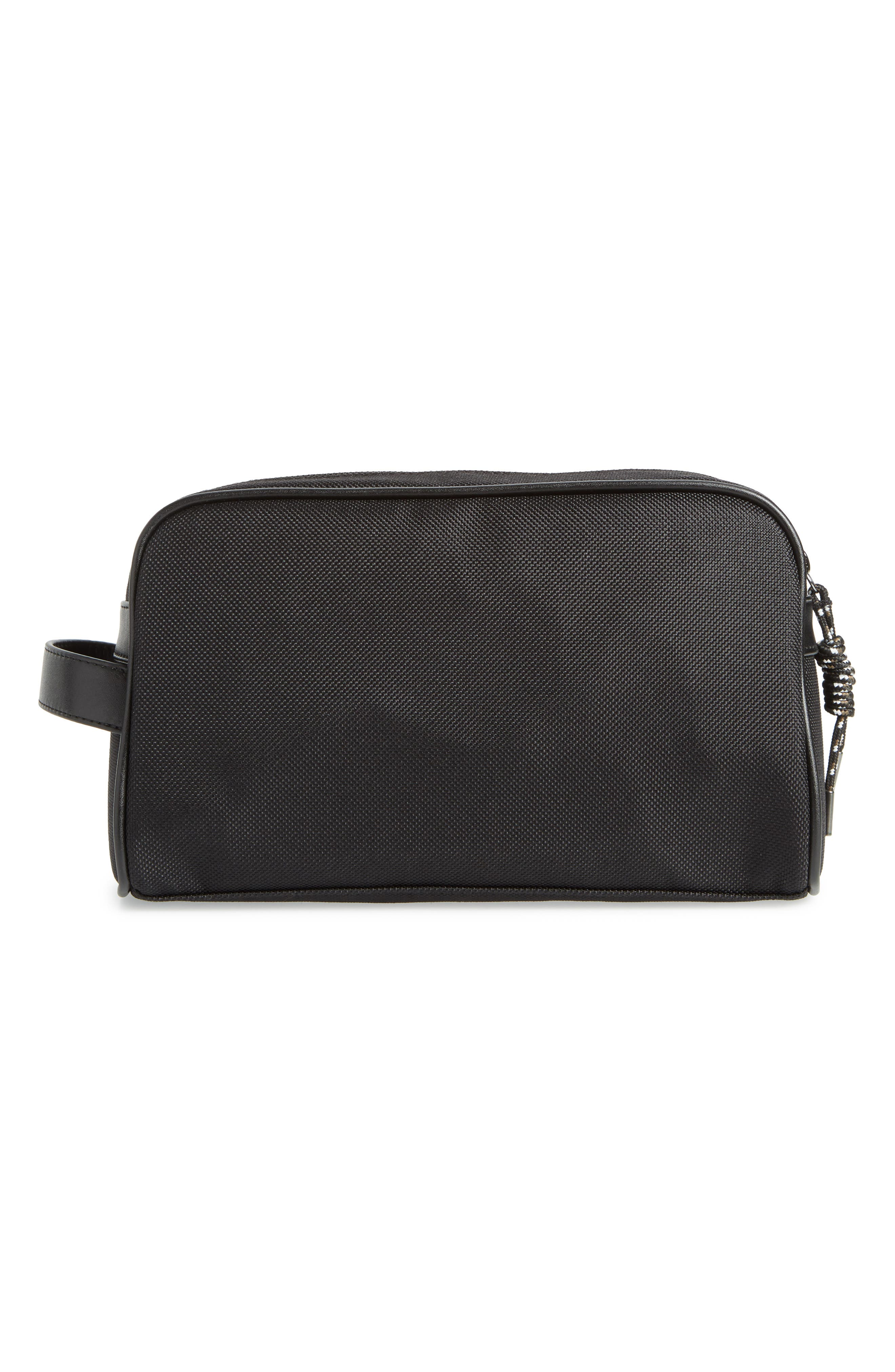 TED BAKER LONDON,                             Blends Dopp Kit,                             Alternate thumbnail 2, color,                             BLACK