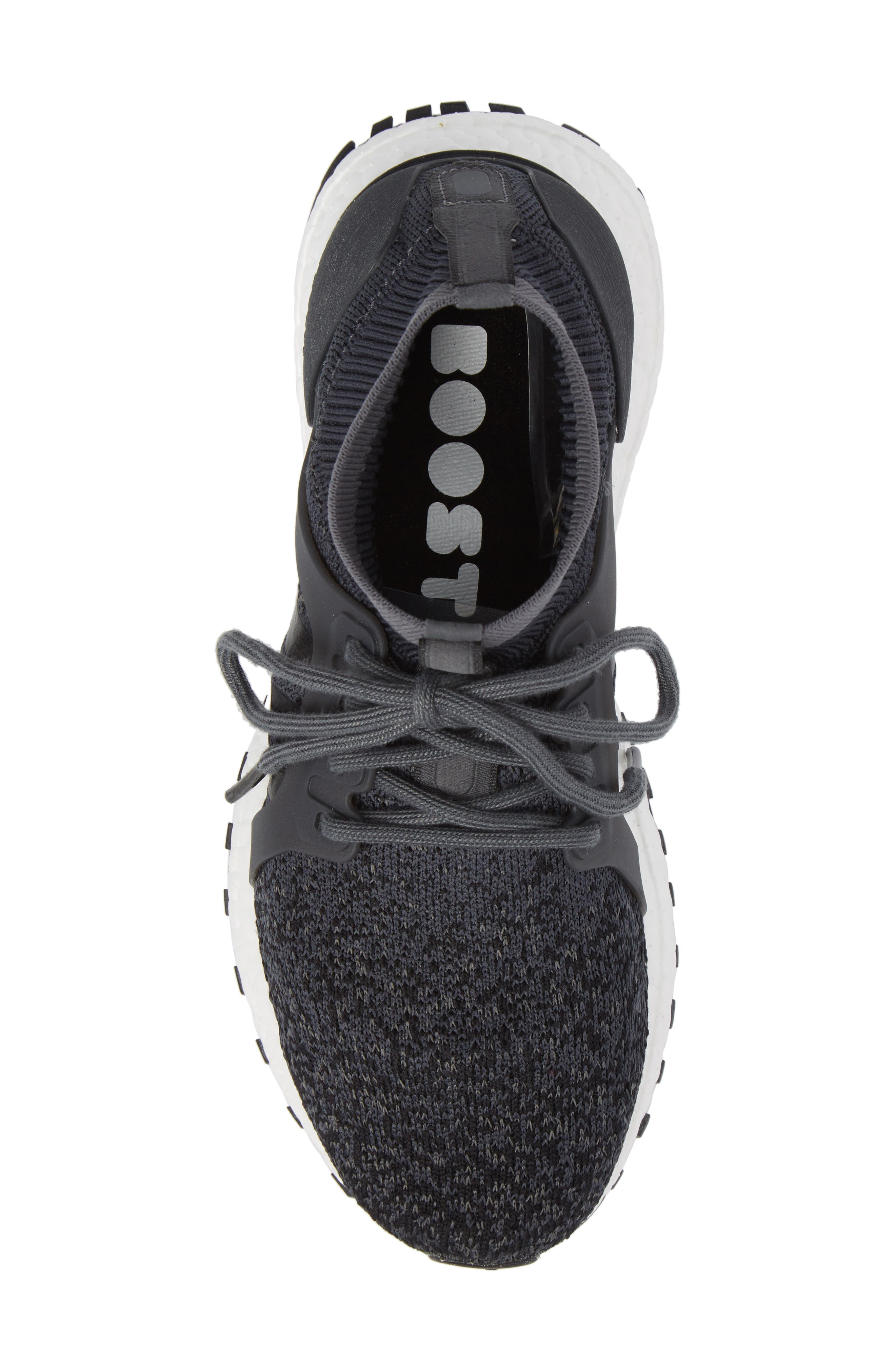 UltraBoost X All Terrain Water Resistant Running Shoe,                             Alternate thumbnail 5, color,                             001
