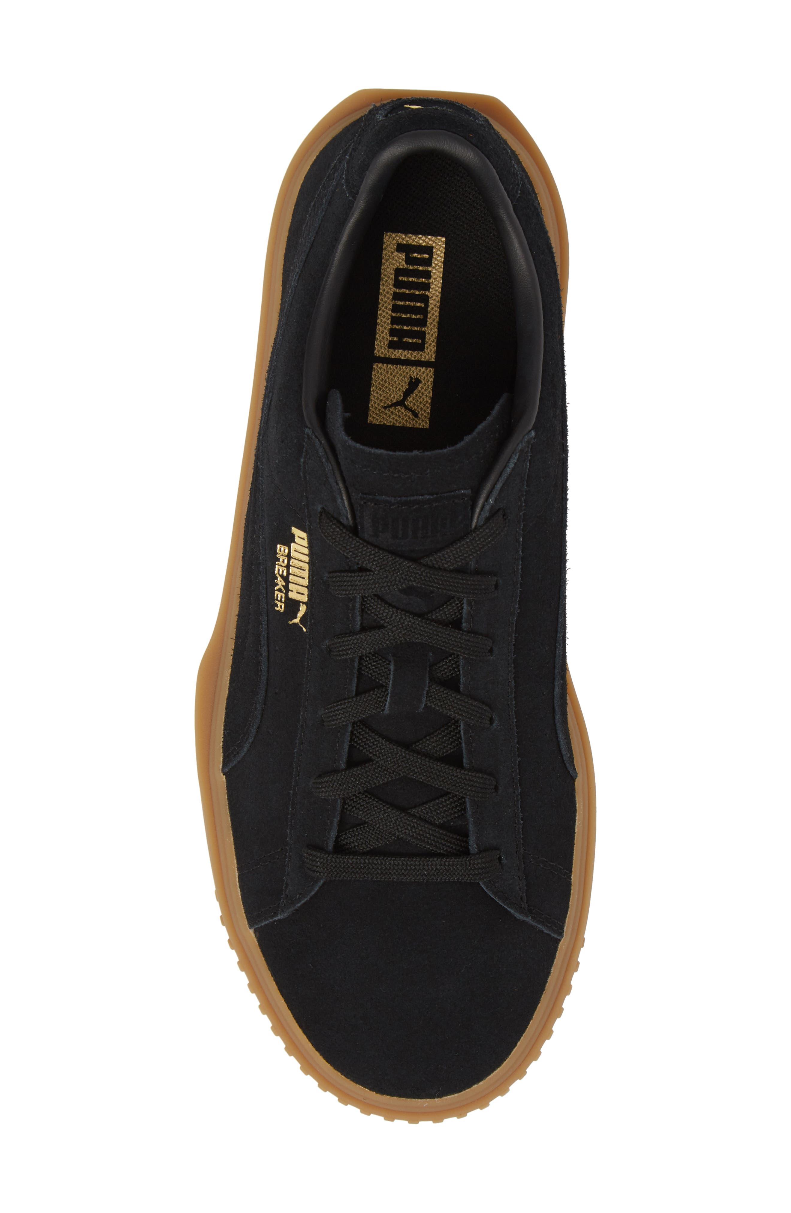 Breaker Suede Gum Low Top Sneaker,                             Alternate thumbnail 9, color,
