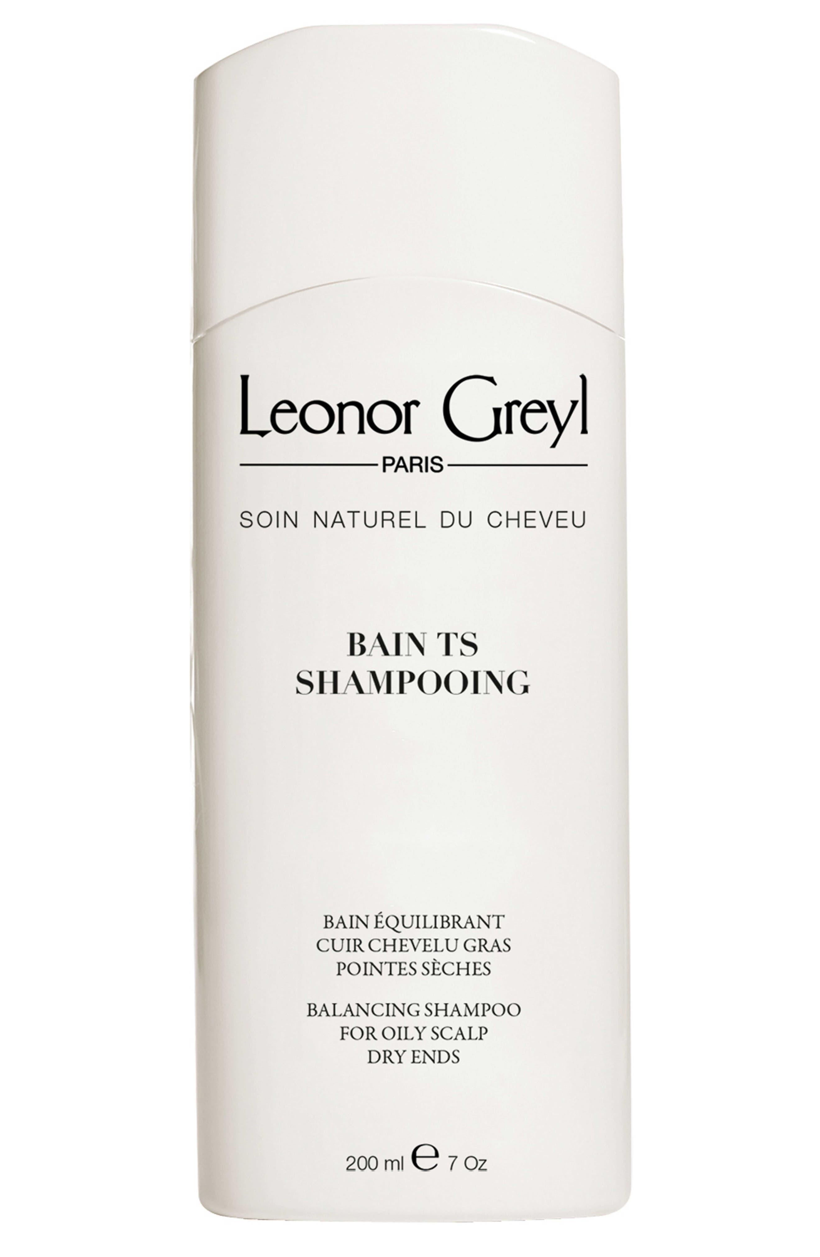 LEONOR GREYL Bain Ts Shampooing (Balancing Shampoo For Oily Scalp And Dry Ends), 7.0 Oz./ 200 Ml