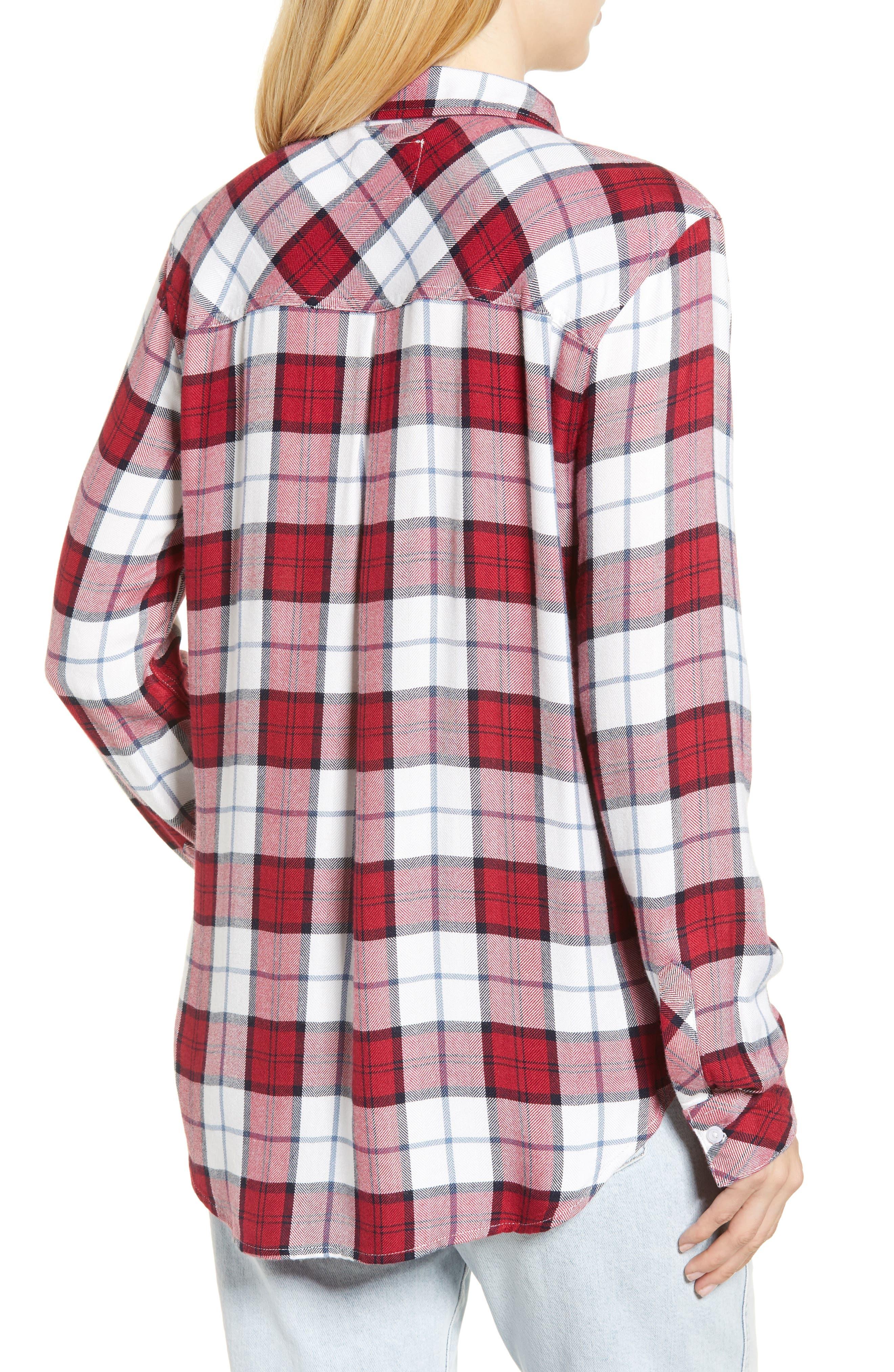 Hunter Plaid Shirt,                             Alternate thumbnail 223, color,