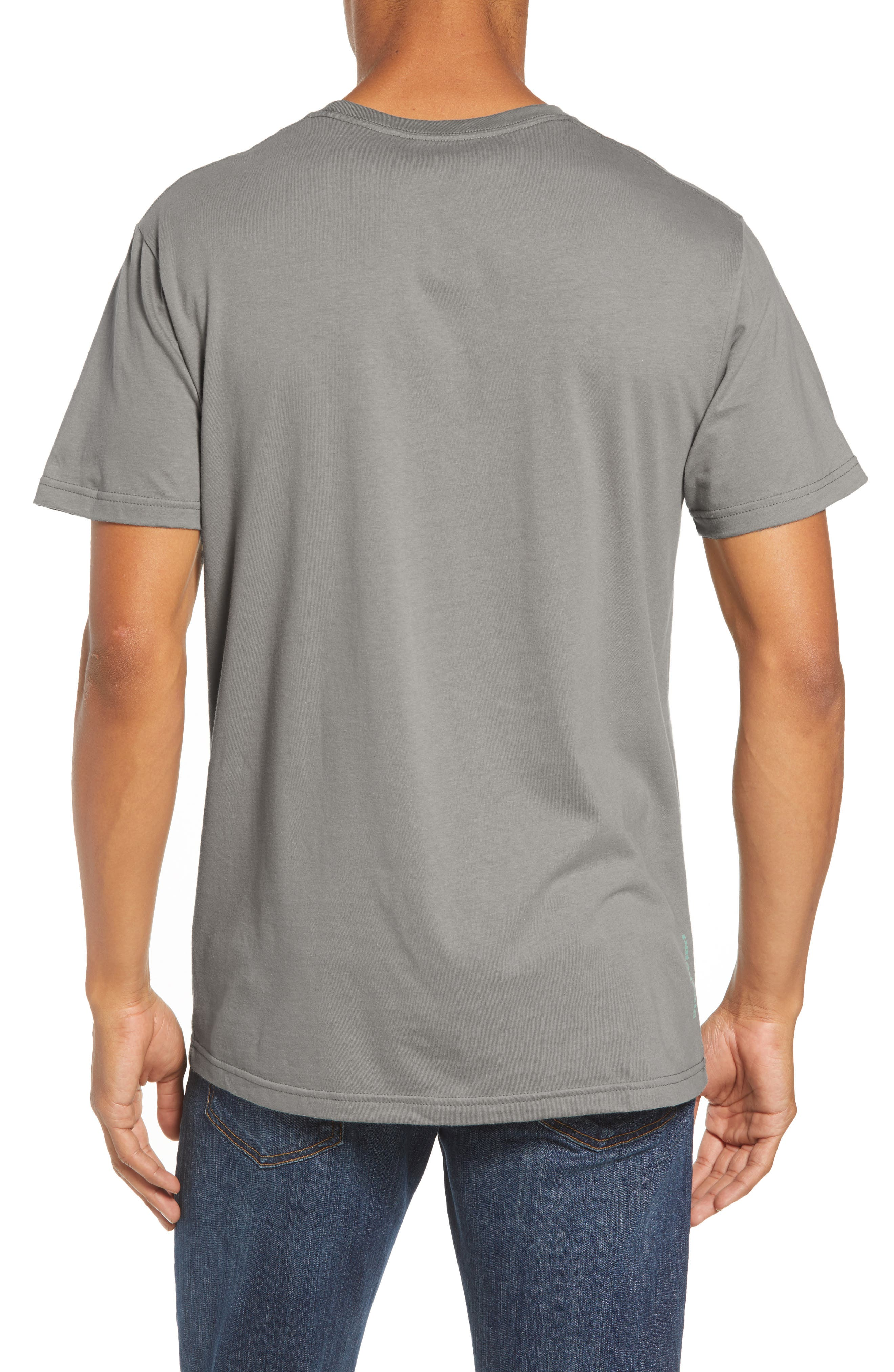 Save Our Rivers Organic Cotton Graphic T-Shirt,                             Alternate thumbnail 2, color,                             FEATHER GREY