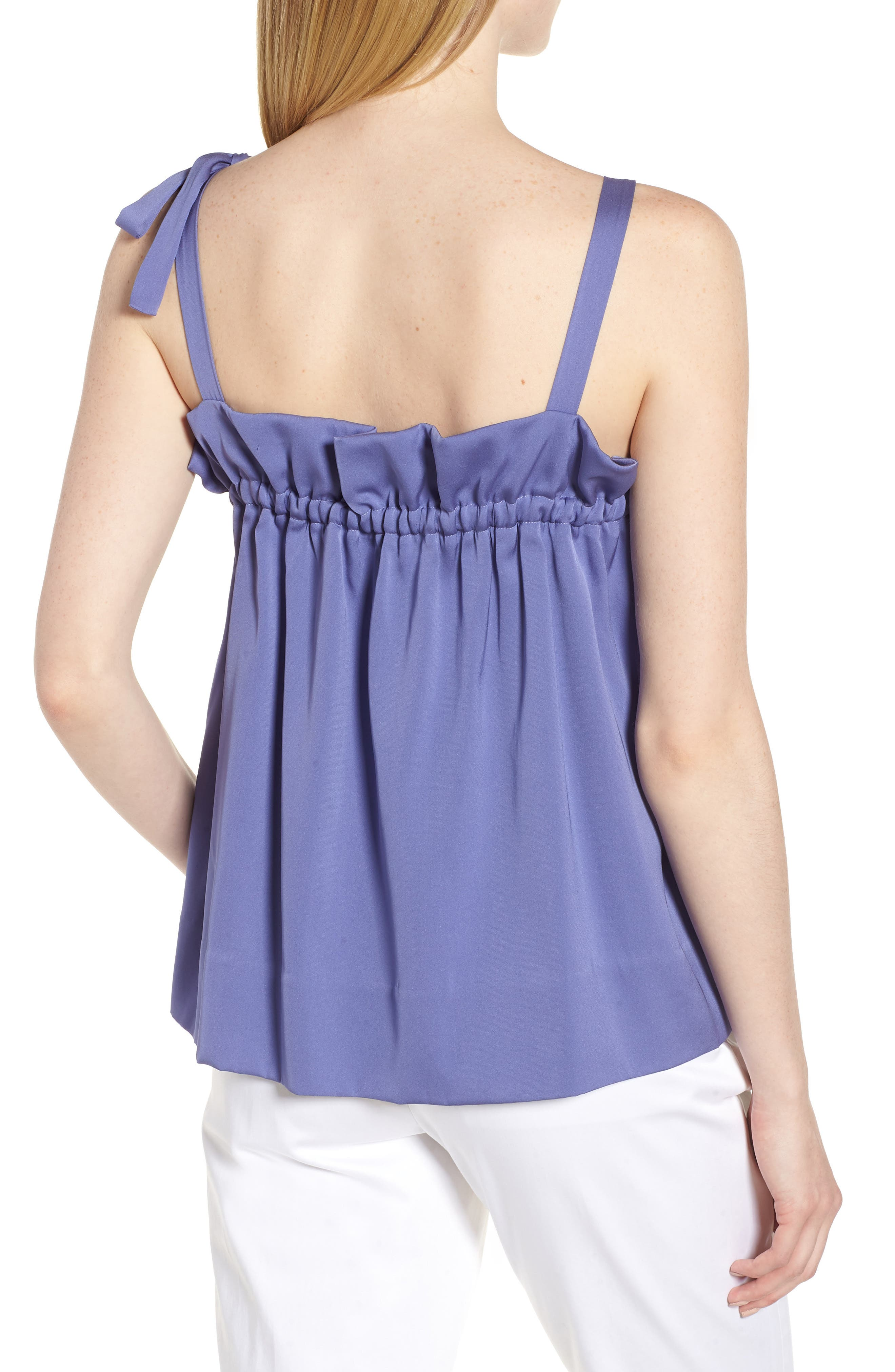 Tie Strap Stretch Silk Camisole,                             Alternate thumbnail 2, color,                             510