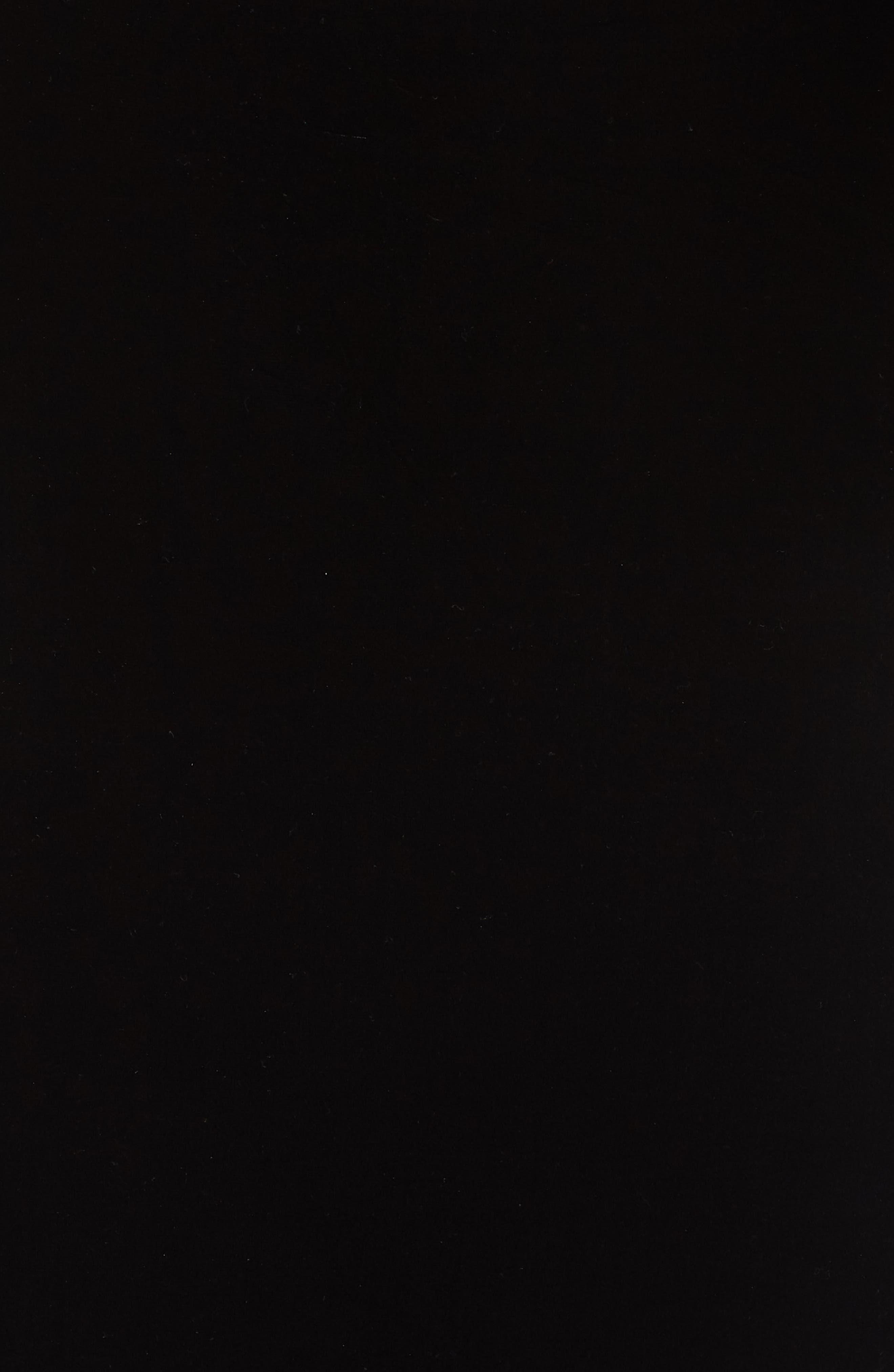 Velvet Gown,                             Alternate thumbnail 6, color,                             BLACK