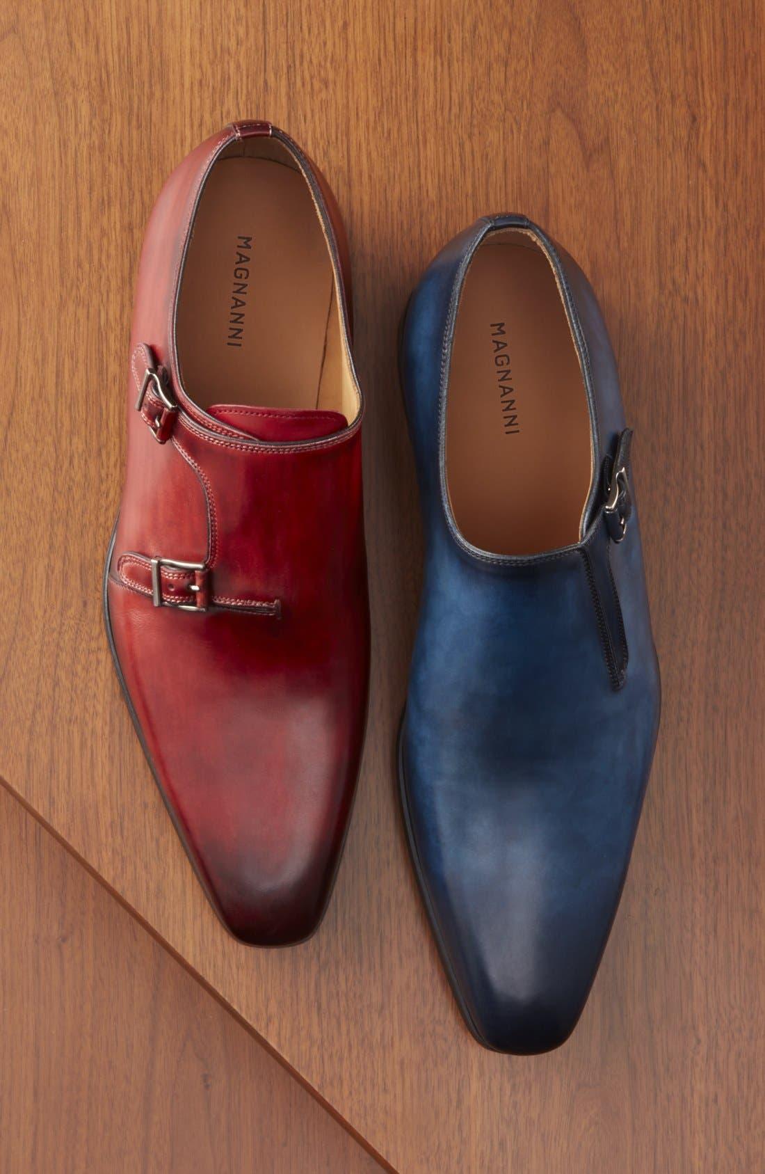 Beltran Monk Strap Shoe,                             Alternate thumbnail 5, color,                             410