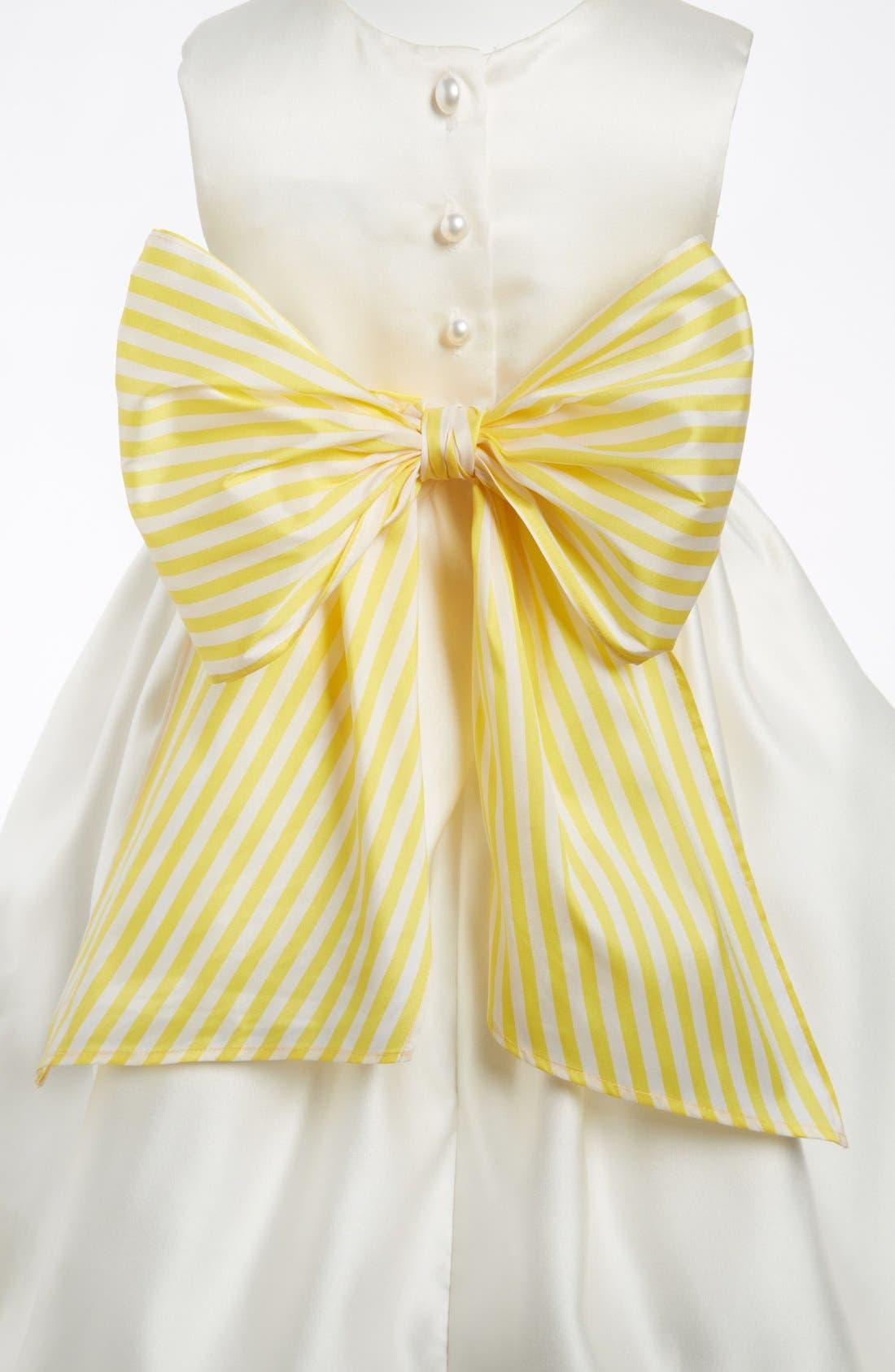 Stripe Sash,                             Main thumbnail 1, color,                             YELLOW STRIPE