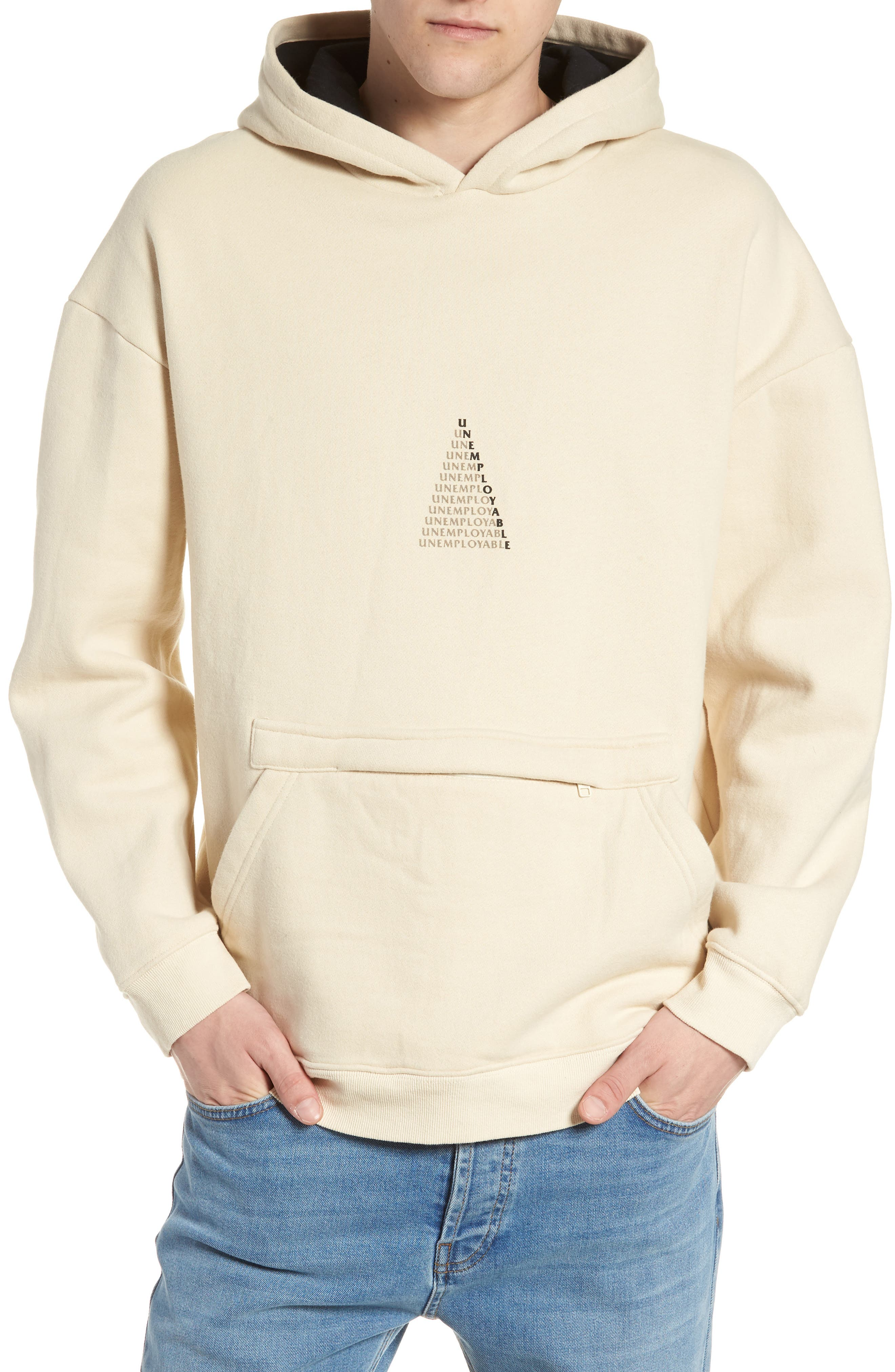 UE Pyramid Hoodie,                         Main,                         color, MILKY
