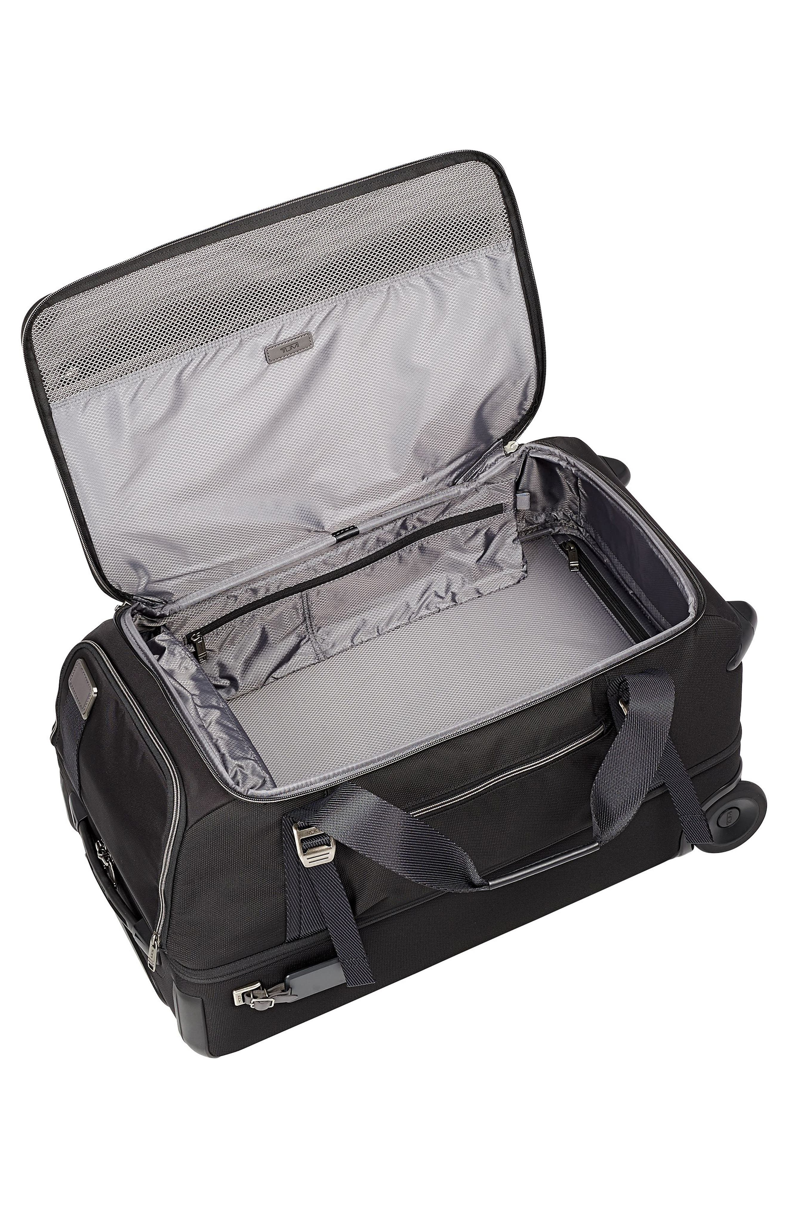 Merge 26-Inch Rolling Duffel Case,                             Alternate thumbnail 5, color,                             BLACK CONTRAST