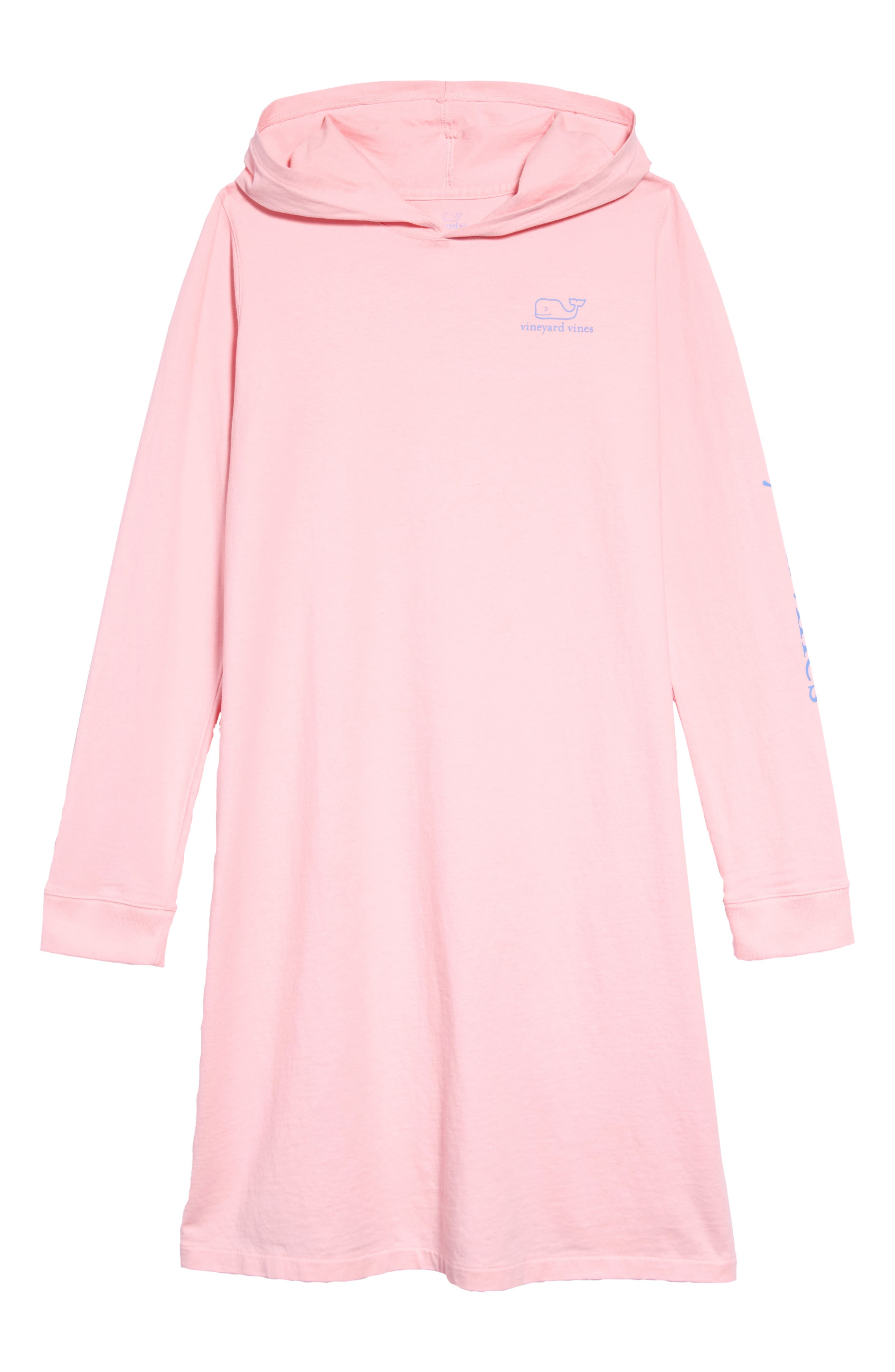 Toddler Girls Vineyard Vines Whale Hooded Tee Dress Size 4T  Pink