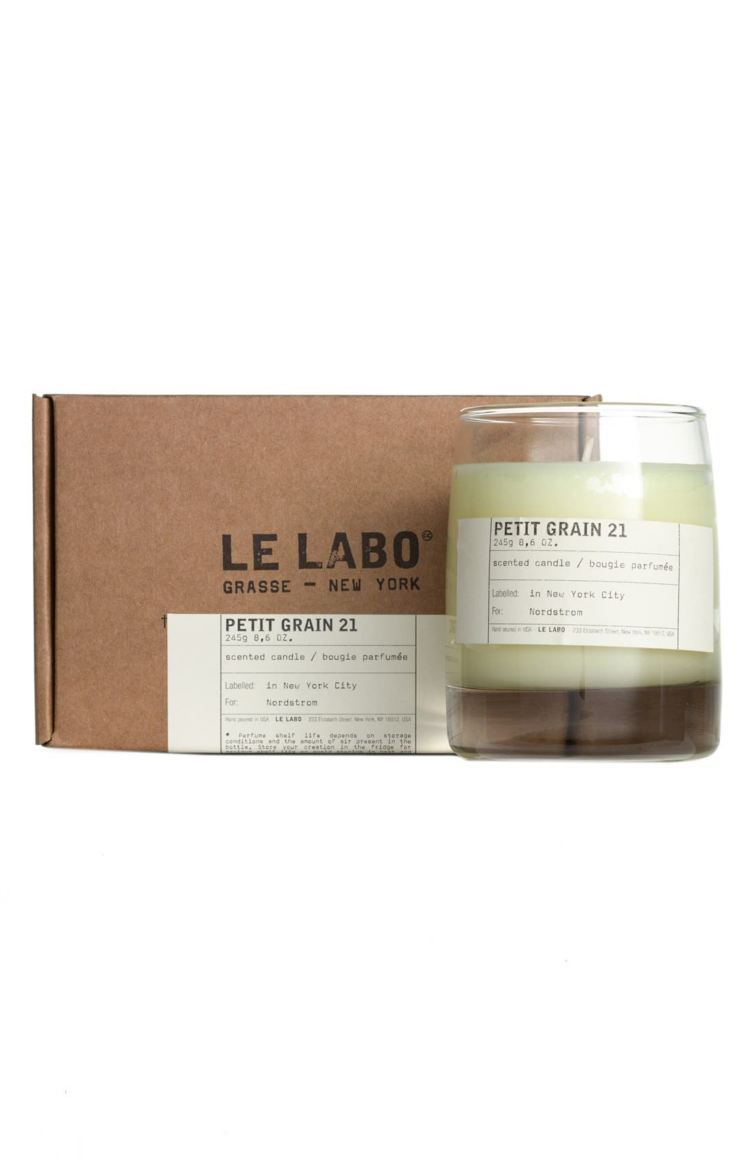 'Petit Grain 21' Classic Candle,                             Alternate thumbnail 3, color,                             NO COLOR