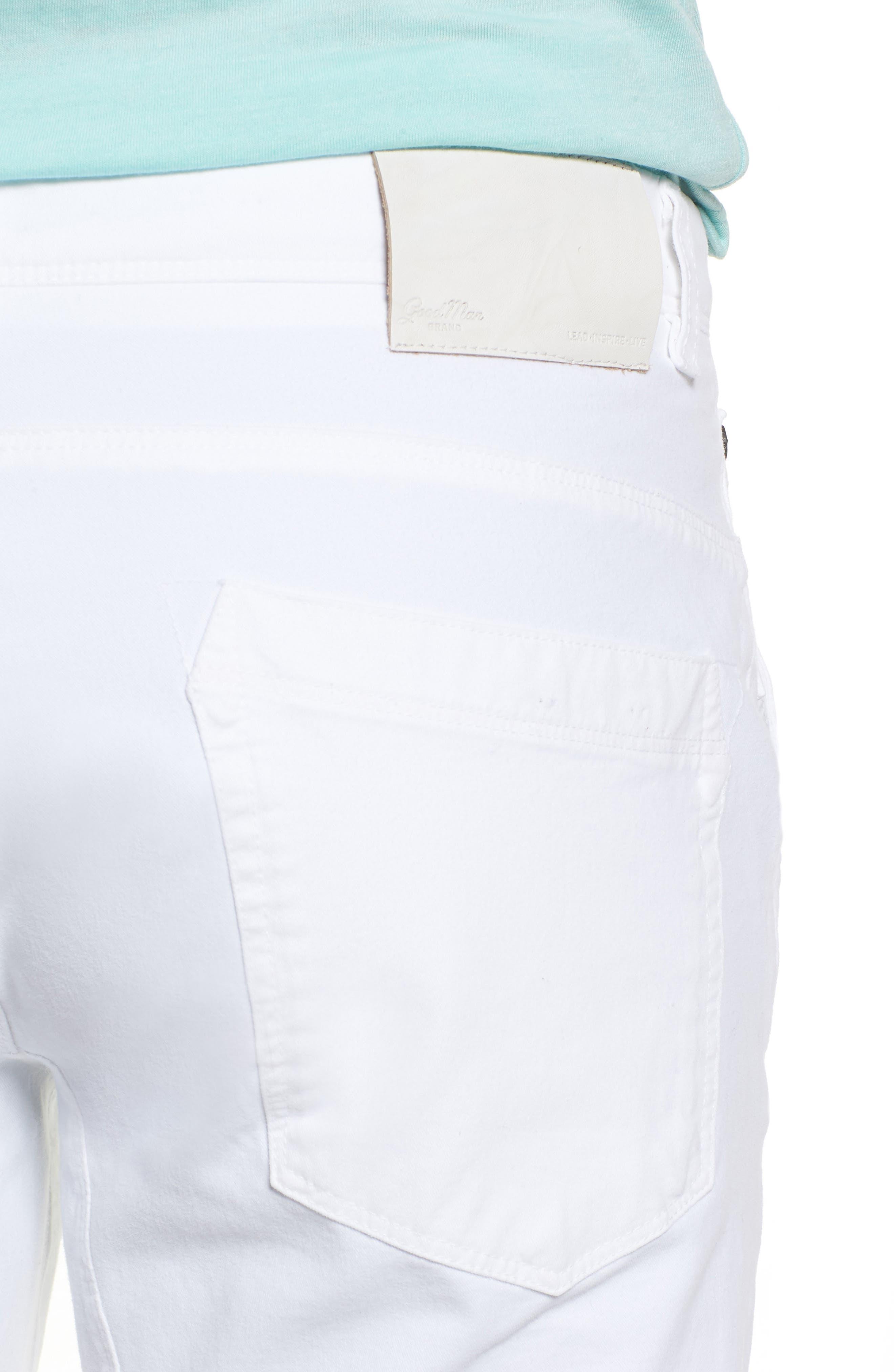 Hybrid Slim Fit Stretch Pants,                             Alternate thumbnail 4, color,                             100