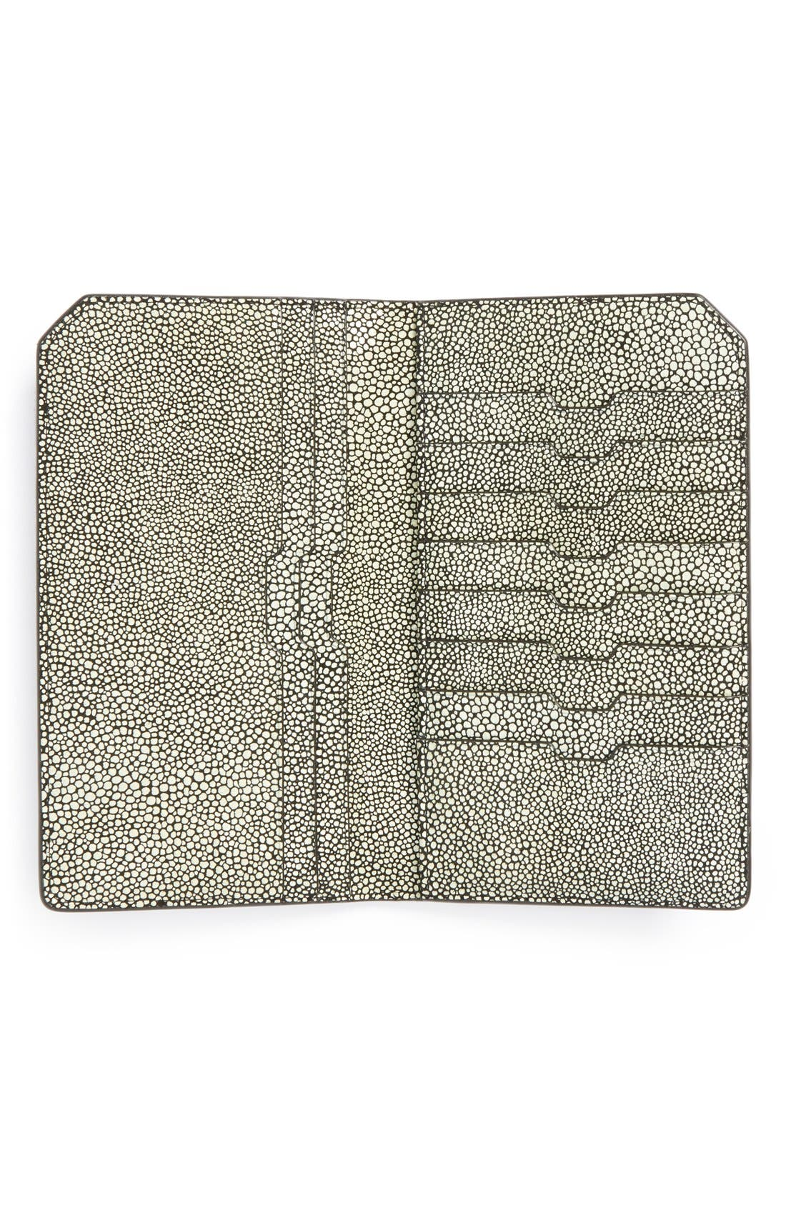 Ben Minkoff 'Orsay' Leather Passport Case,                             Alternate thumbnail 2, color,                             003