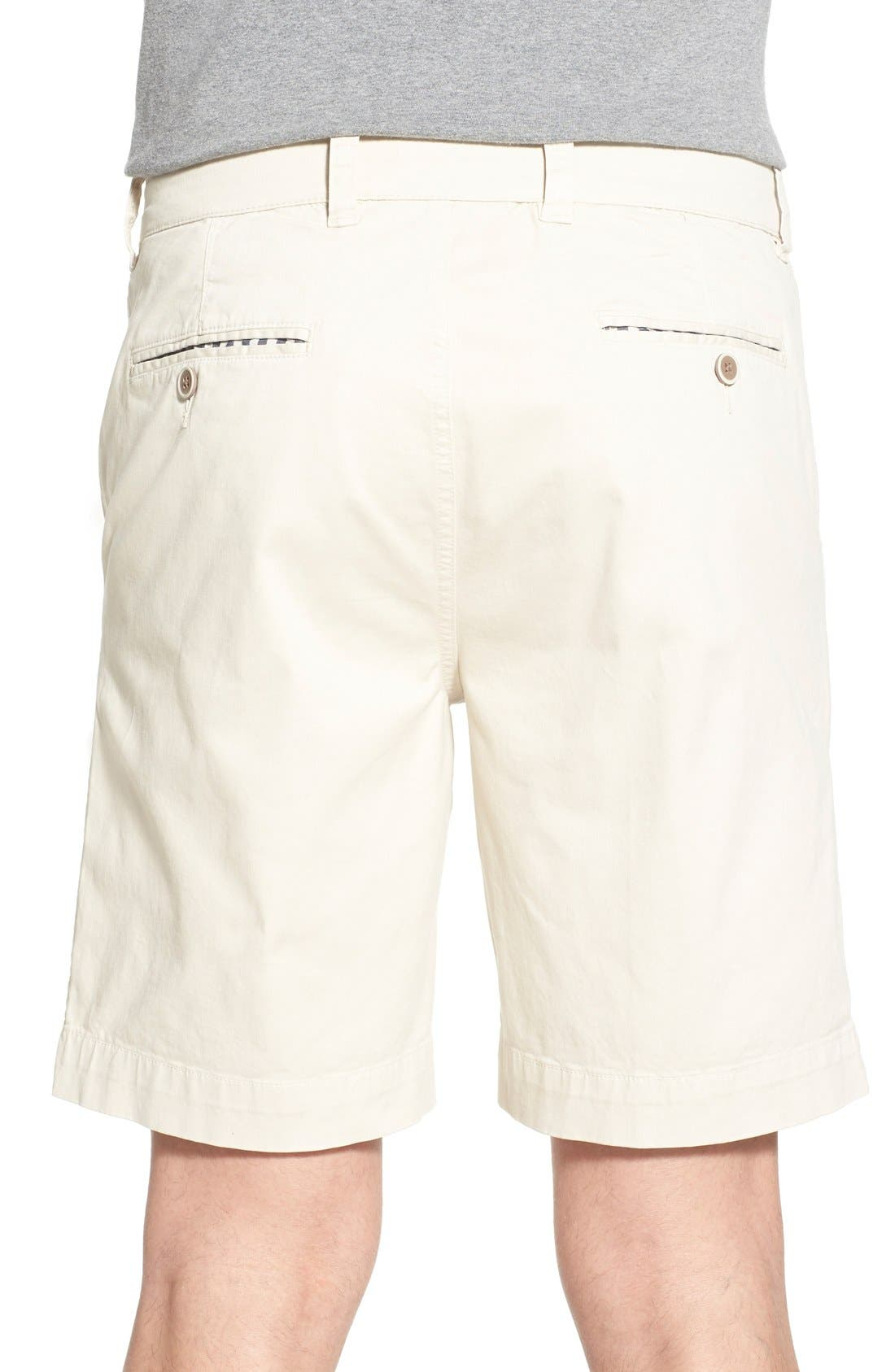 'Sunny' Stretch Chino Shorts,                             Alternate thumbnail 8, color,