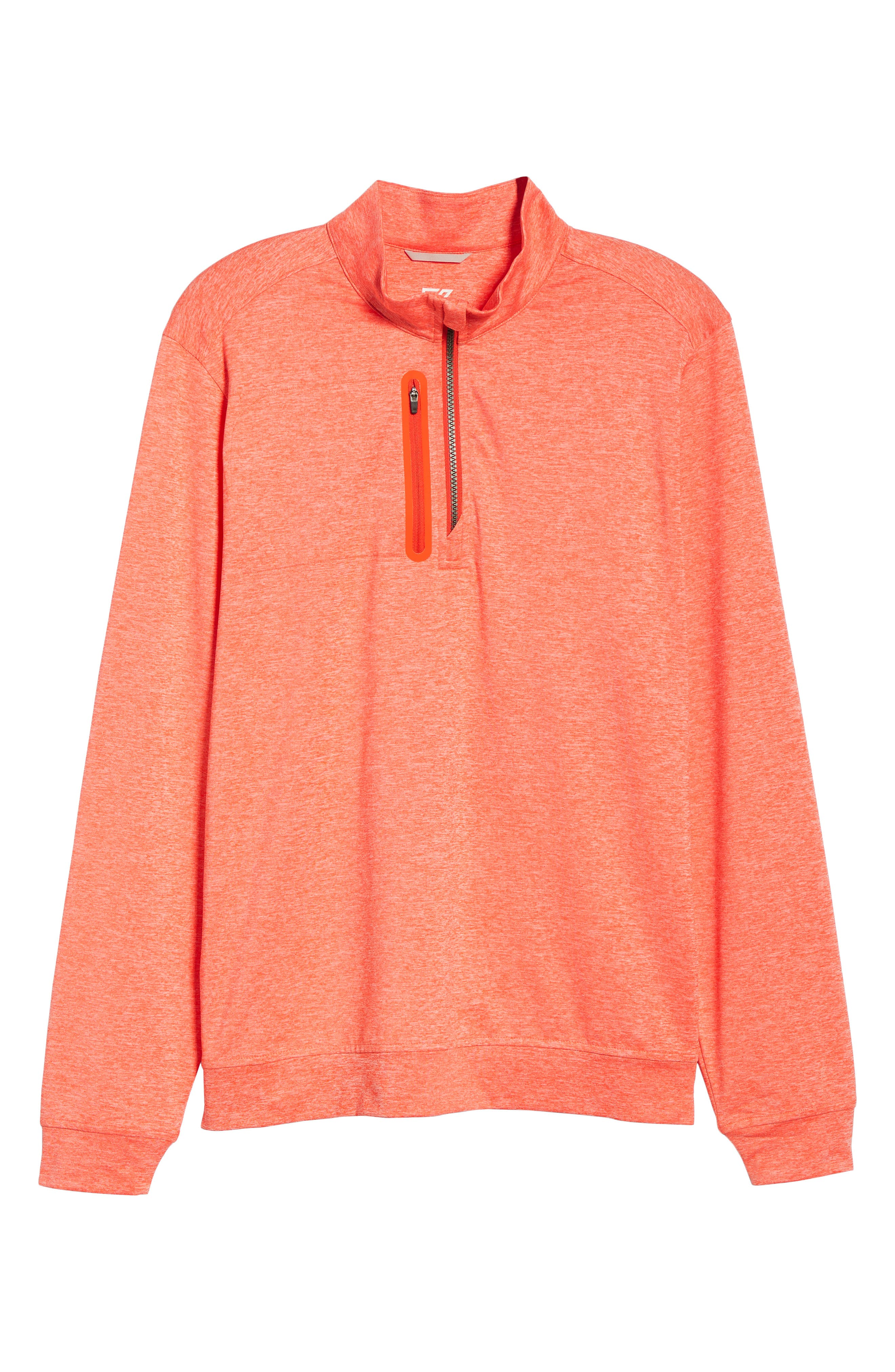 Stealth Half Zip Pullover,                             Alternate thumbnail 6, color,                             ALARM