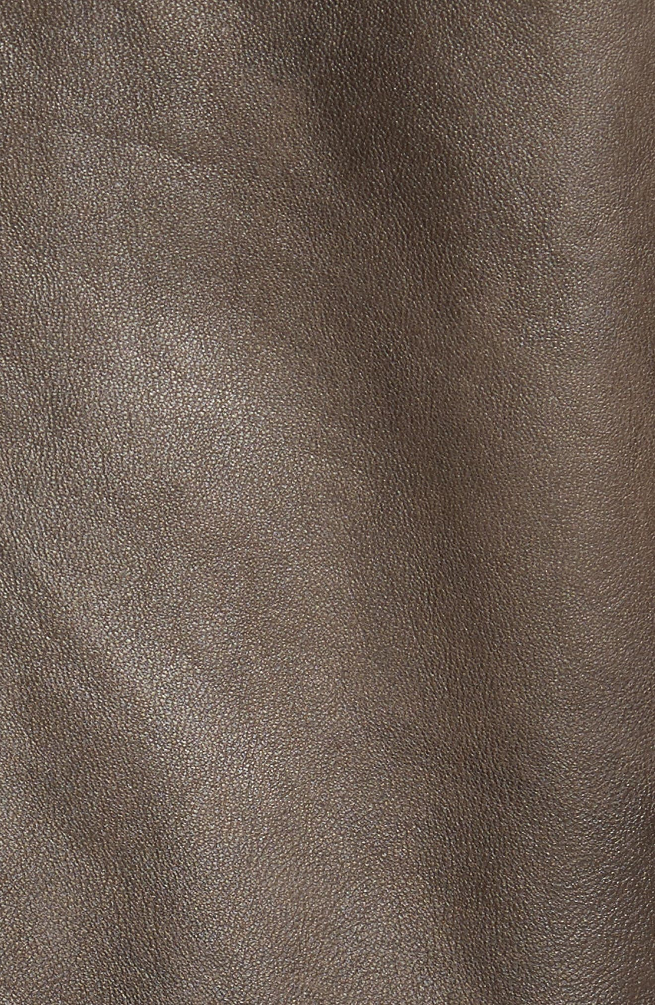 Washed Lamb Leather Moto Jacket,                             Alternate thumbnail 12, color,