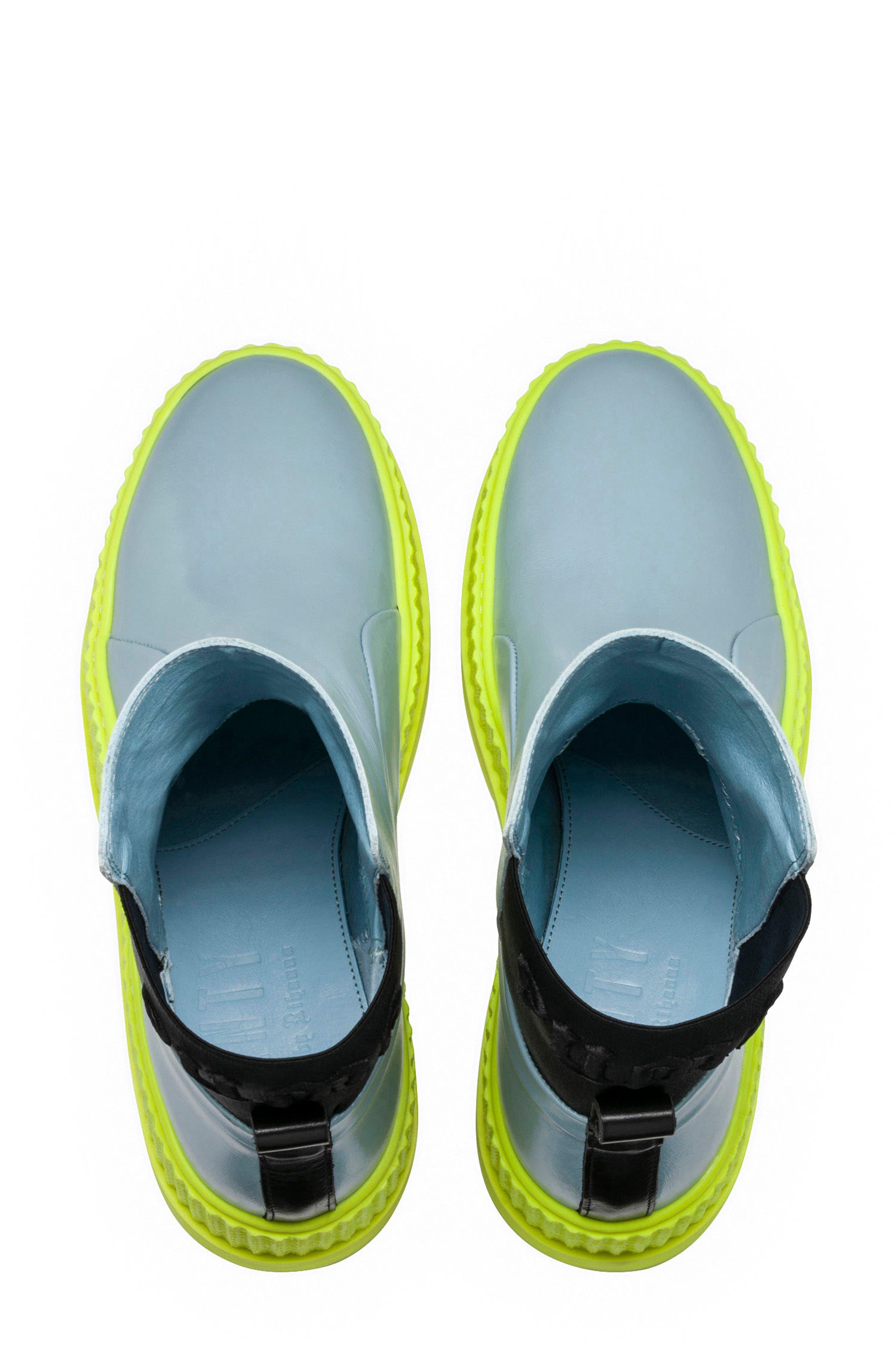 FENTY PUMA by Rihanna Chelsea Boot Creeper Sneaker,                             Alternate thumbnail 9, color,