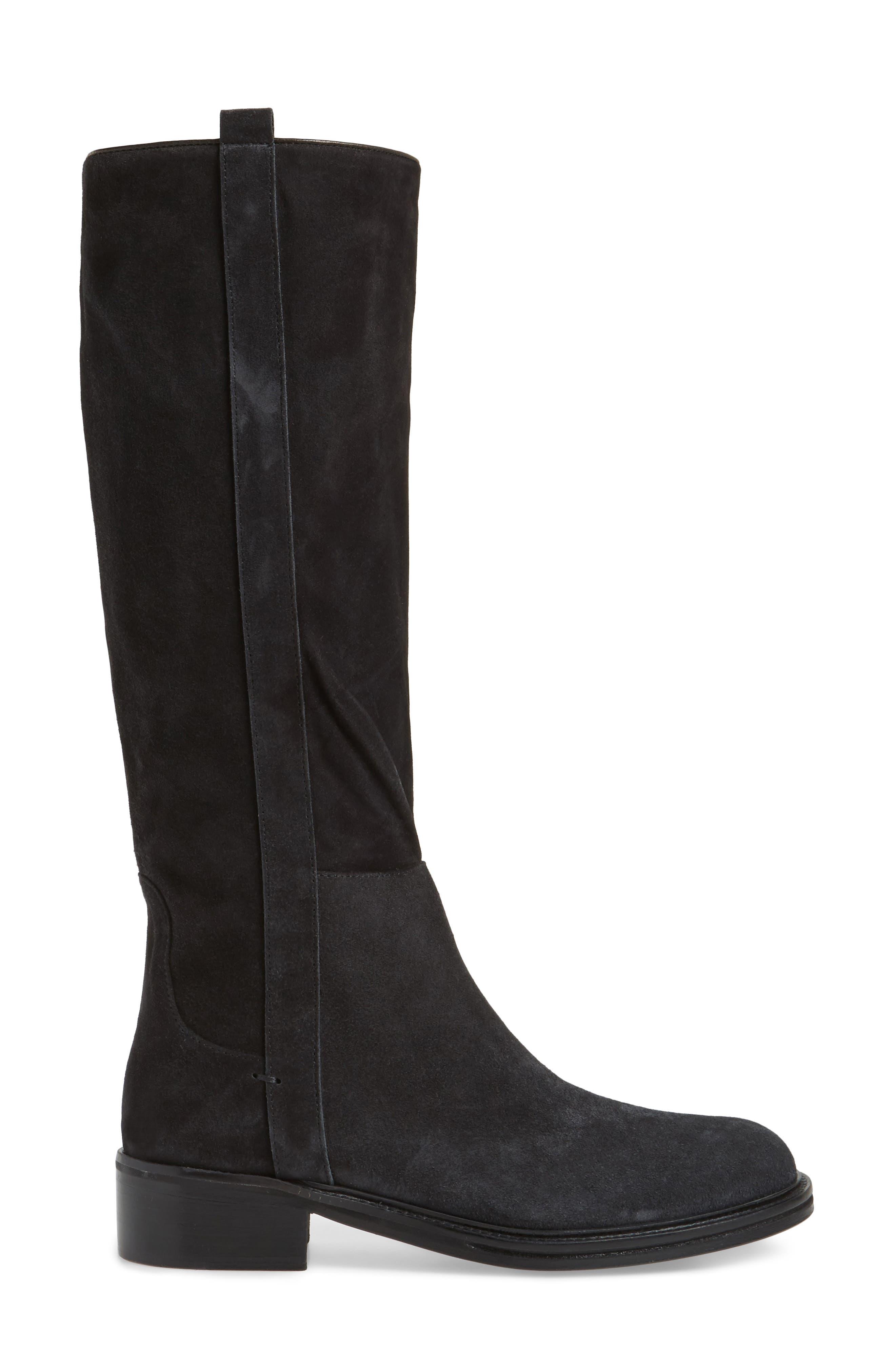Palmira Knee High Boot,                             Alternate thumbnail 3, color,                             001