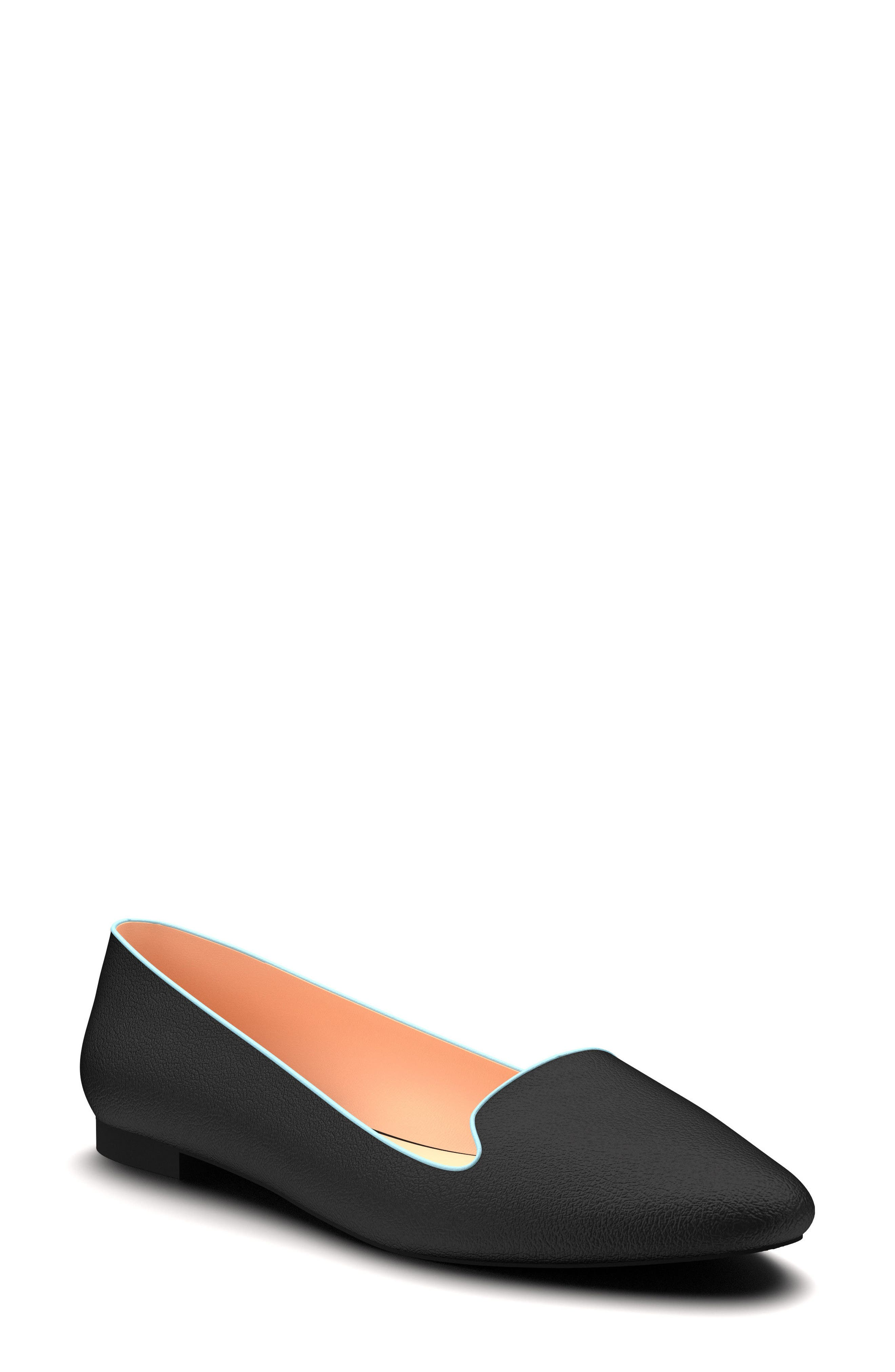 Ballet Flat,                         Main,                         color, 001