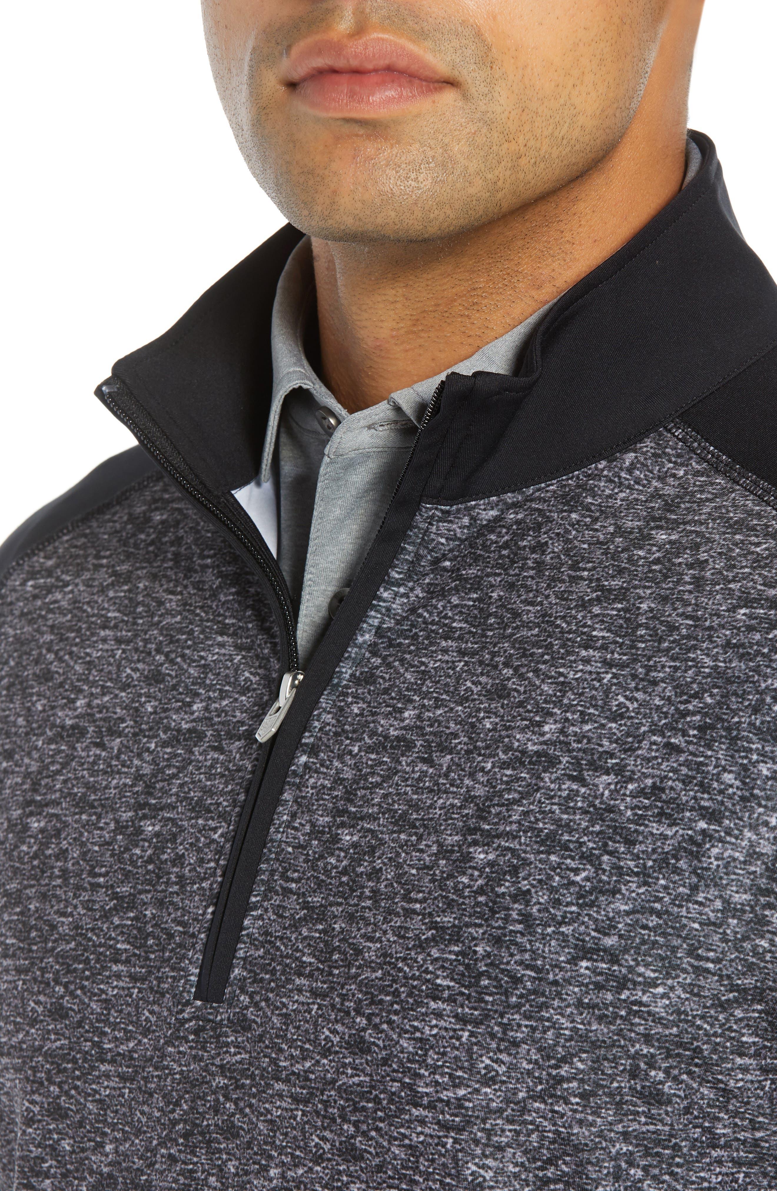 Rule 18 Tech Raglan Pullover,                             Alternate thumbnail 4, color,                             BLACK