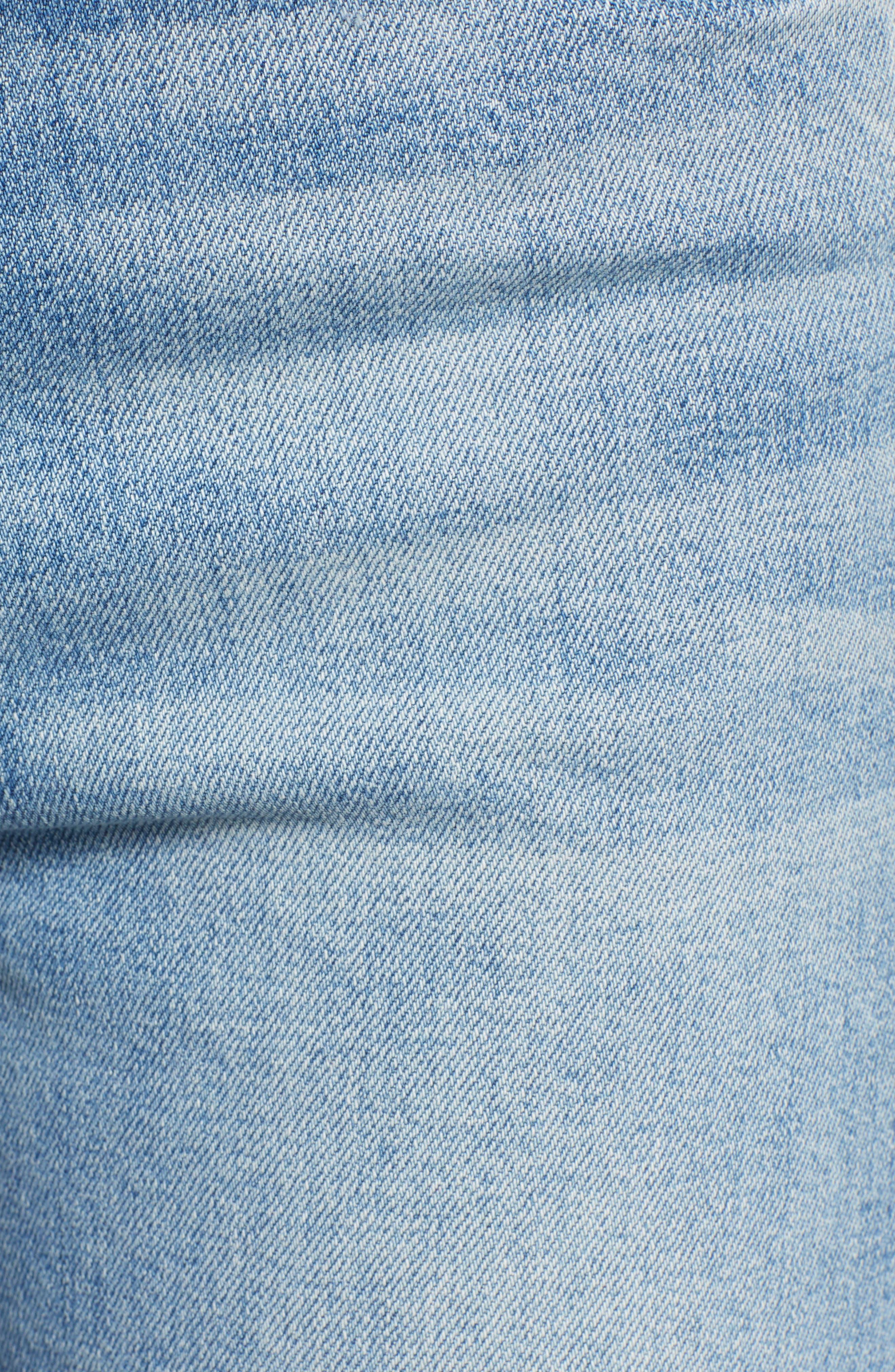 Tomcat Roller Chew Hem Jeans,                             Alternate thumbnail 6, color,                             420
