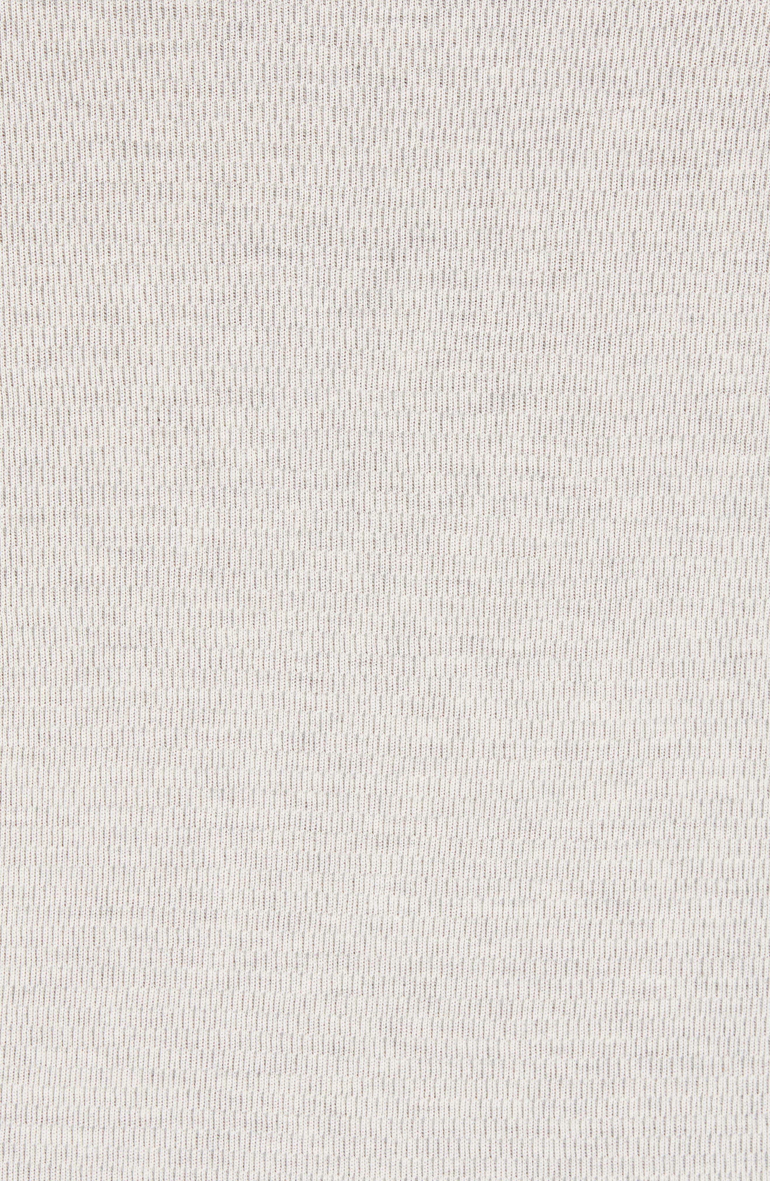 Regular Fit Thermal Hoodie,                             Alternate thumbnail 5, color,                             SAIL/ H GREY