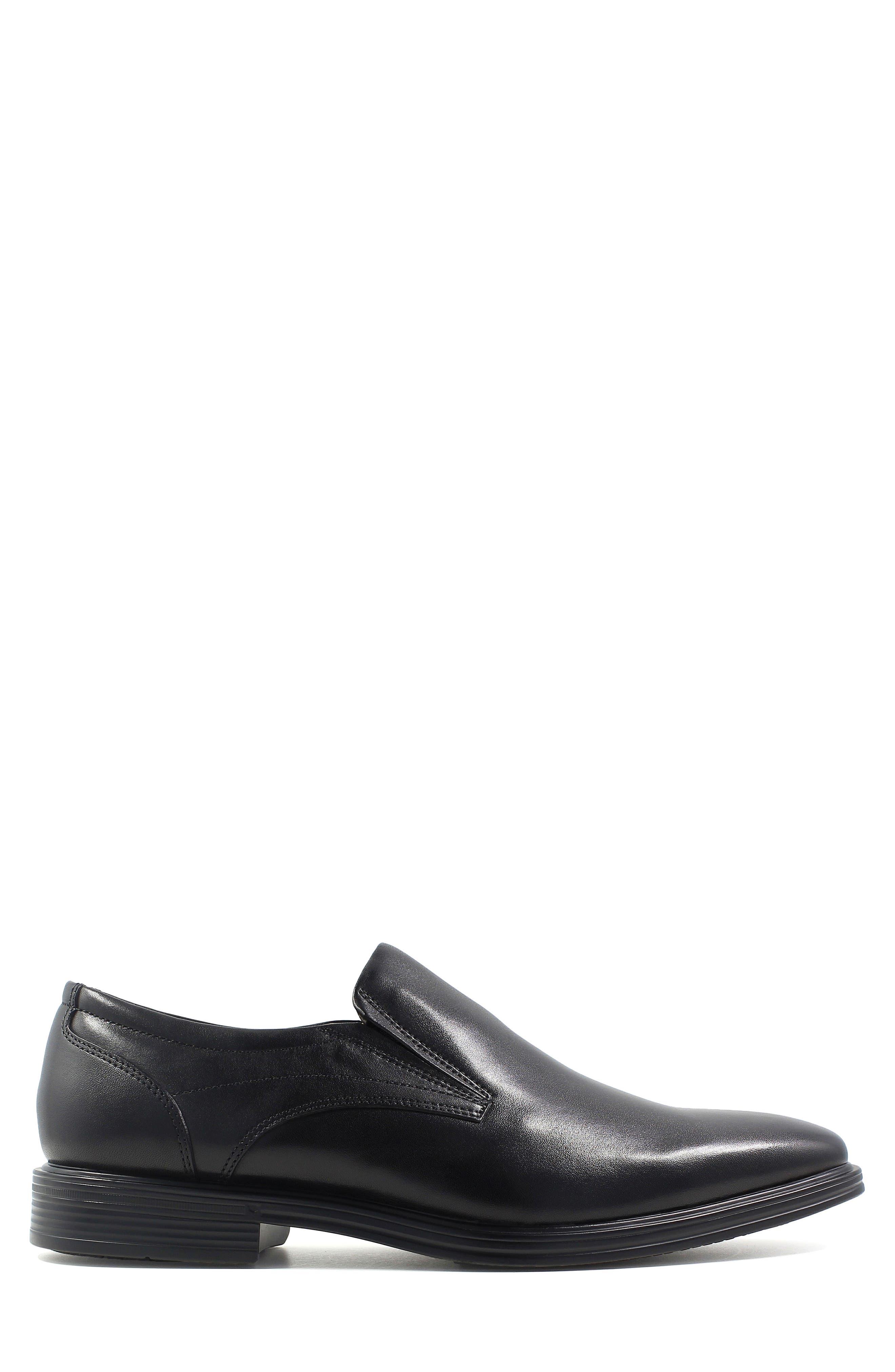 Heights Venetian Loafer,                             Alternate thumbnail 3, color,                             BLACK