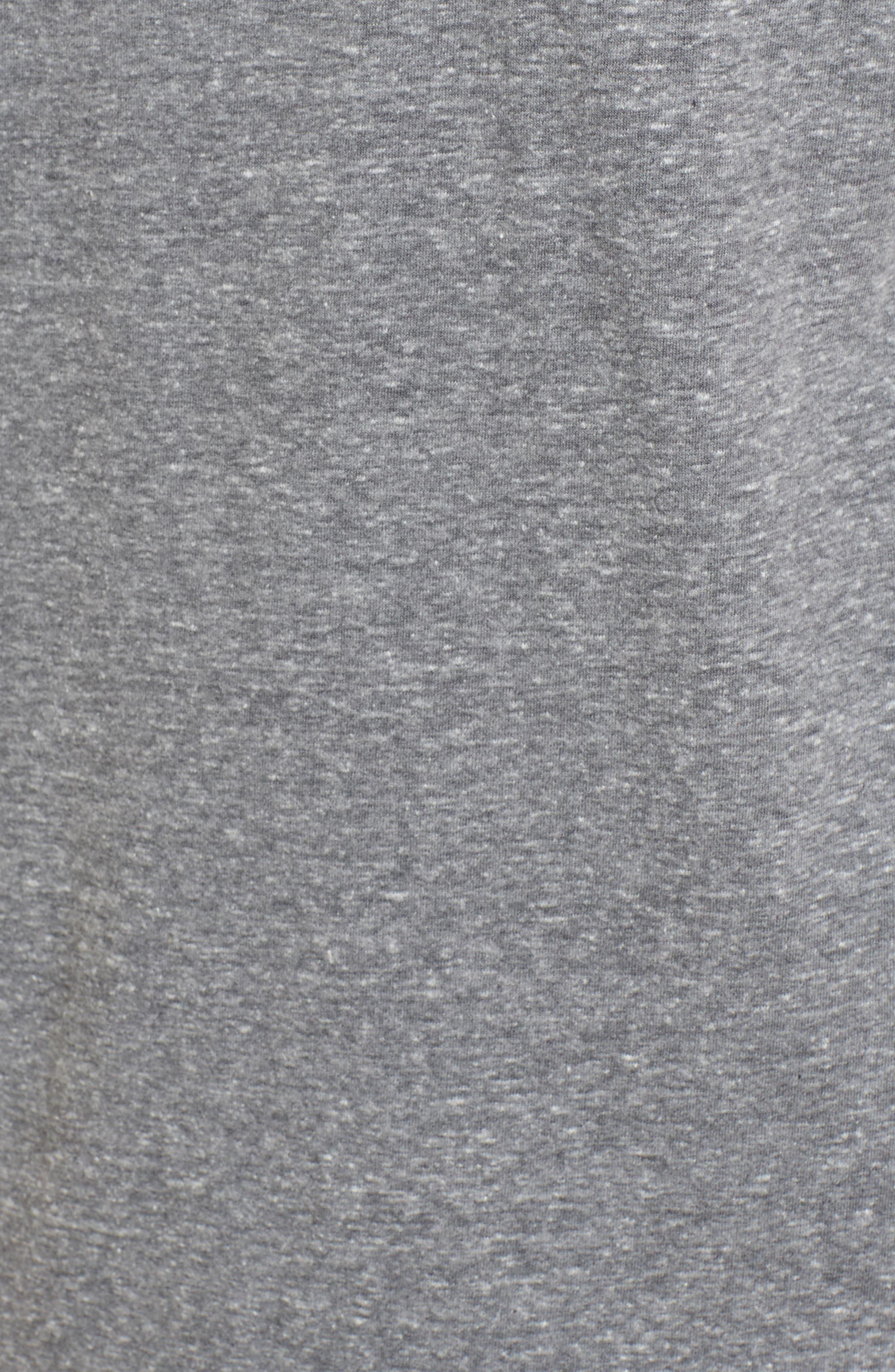 Benjamin Crewneck T-Shirt,                             Alternate thumbnail 5, color,                             GREY HEATHER