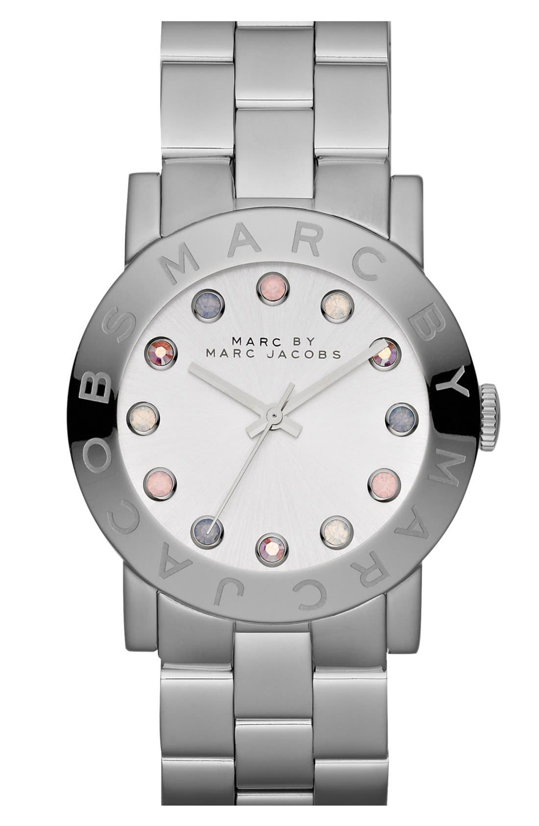 'Amy' Bracelet Watch, 37mm,                         Main,                         color, 040