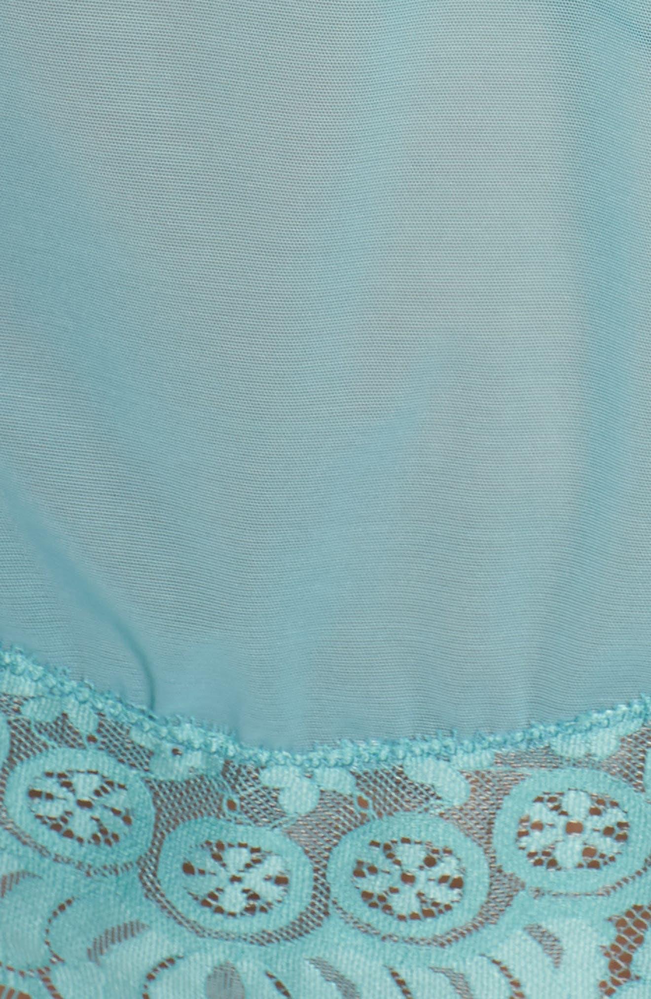 Eyelash Lace Robe & G-String,                             Alternate thumbnail 23, color,